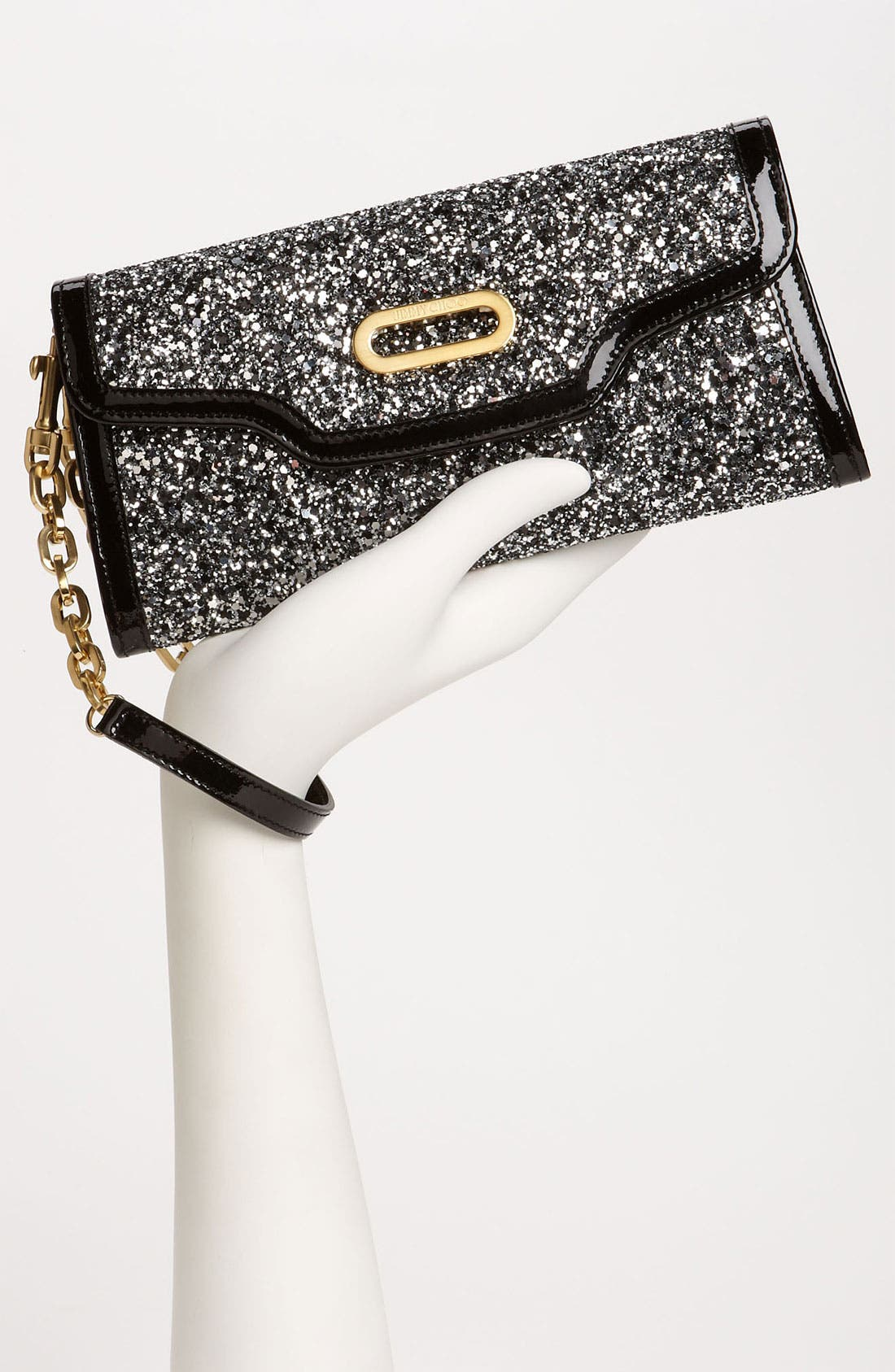 Alternate Image 2  - Jimmy Choo Glitter Clutch