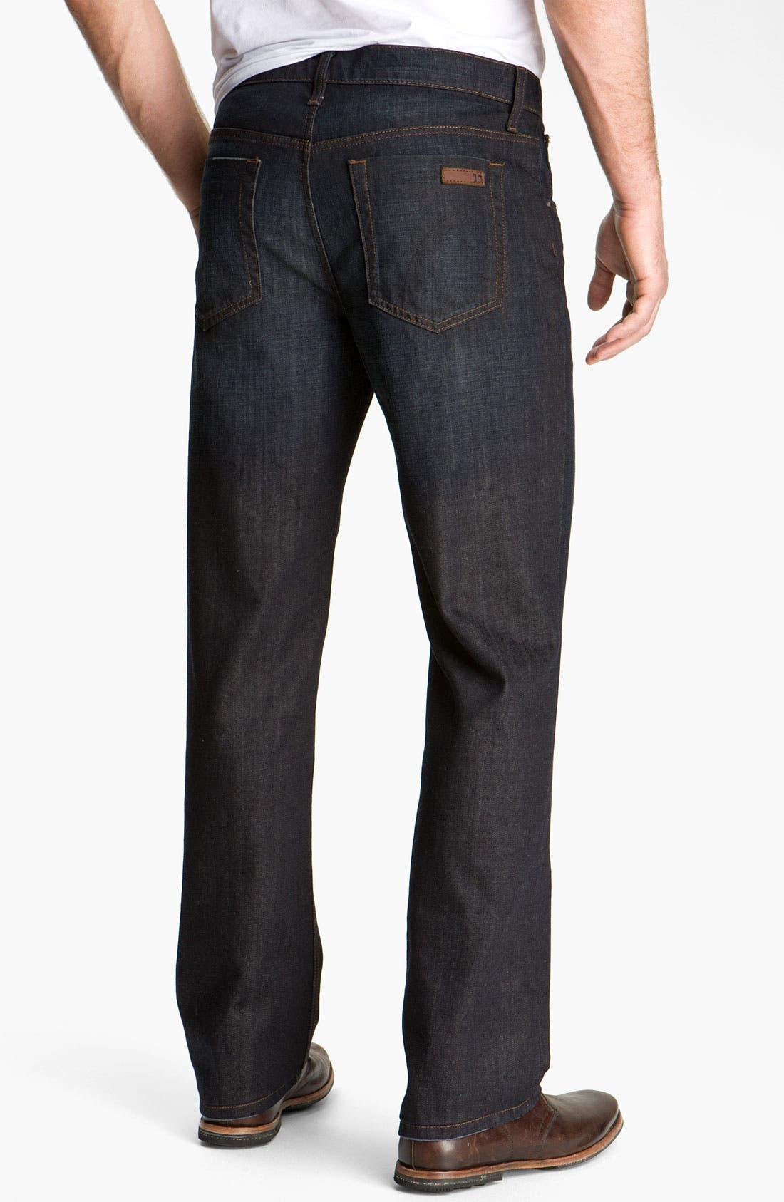 Main Image - Joe's 'Rebel' Relaxed Straight Leg Jeans (Fields Dark Blue)