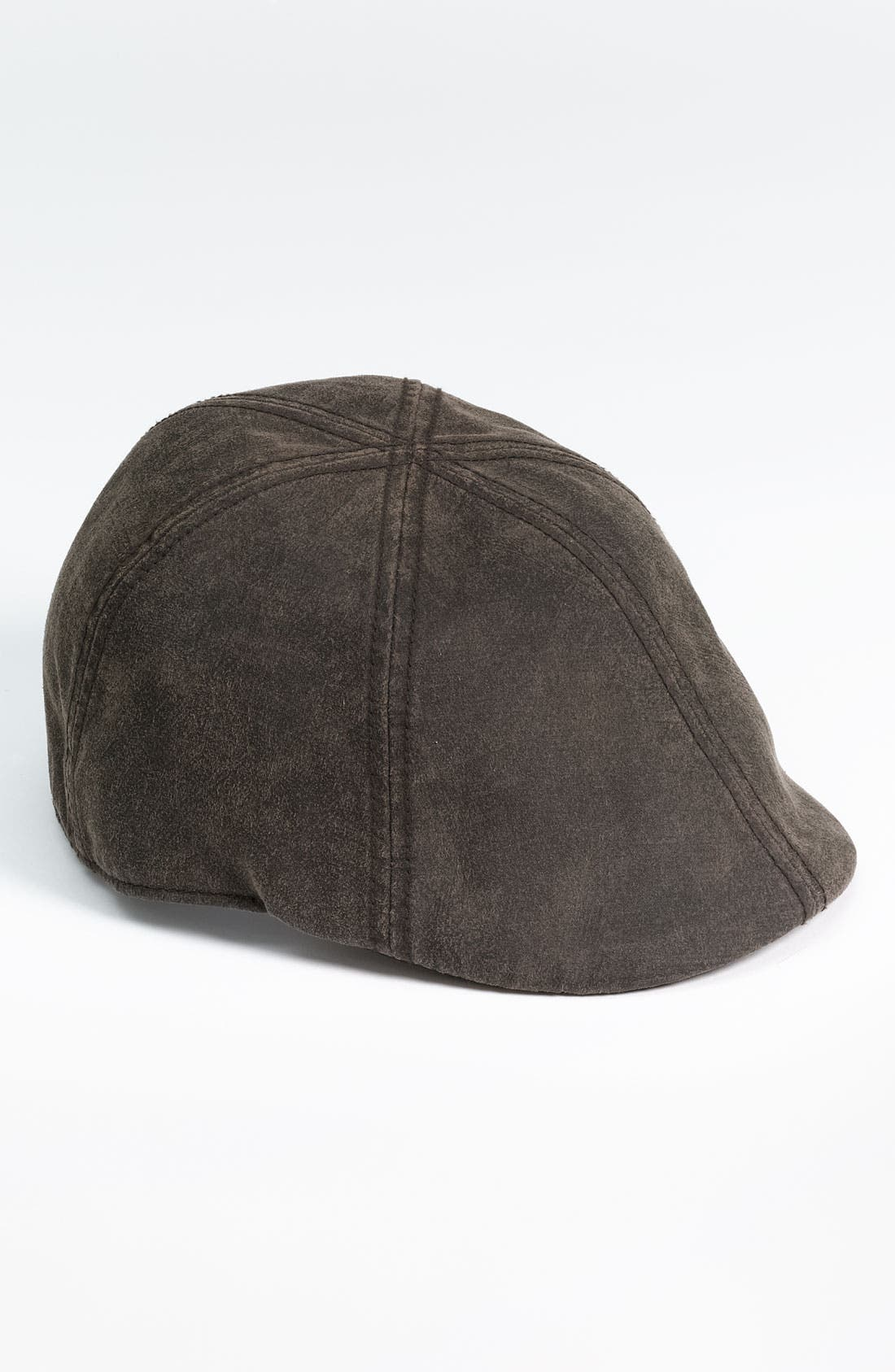 Alternate Image 1 Selected - Free Authority Faux Leather Duckbill Ivy Cap