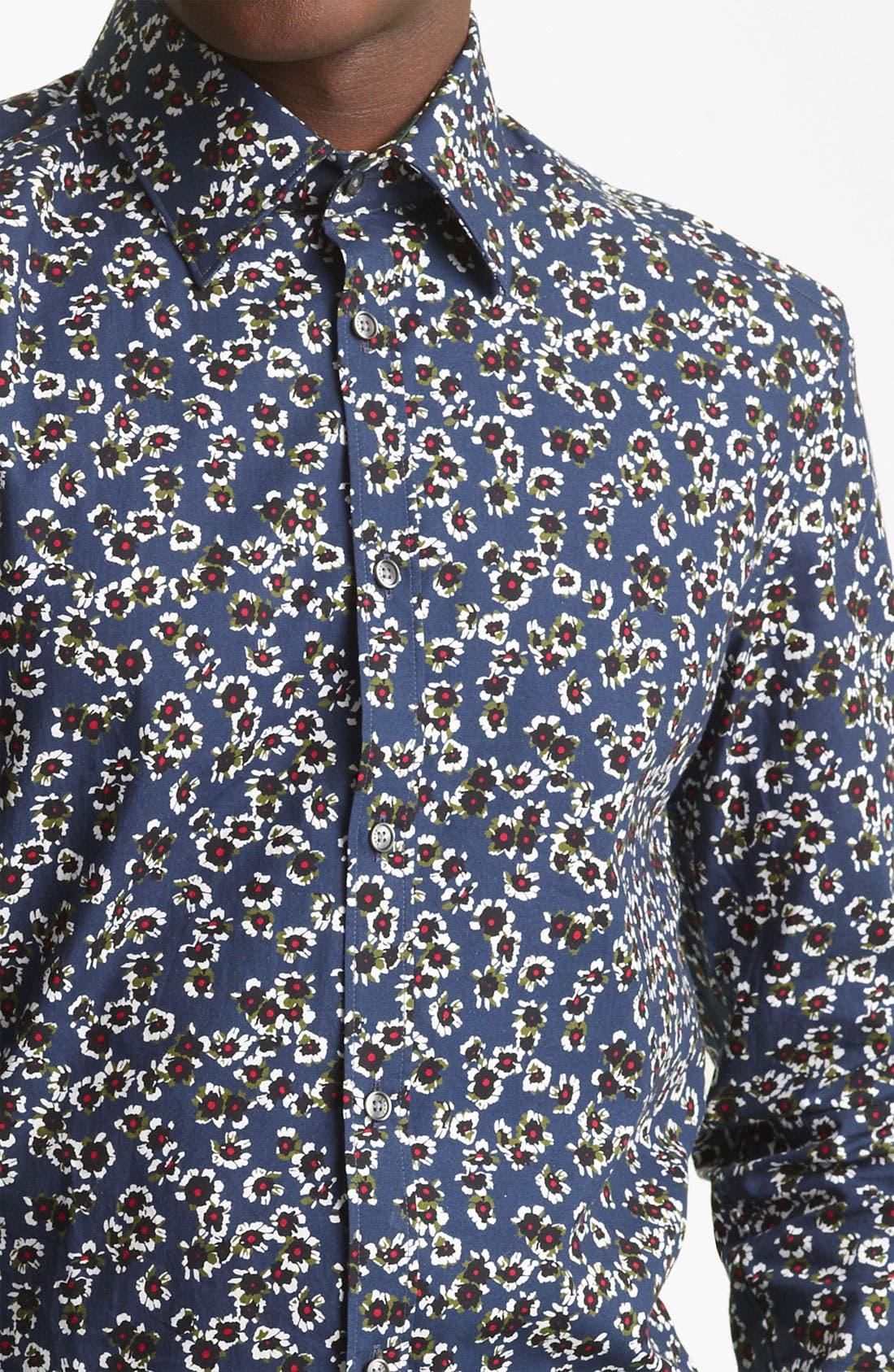 Alternate Image 3  - KENZO Flower Print Dress Shirt
