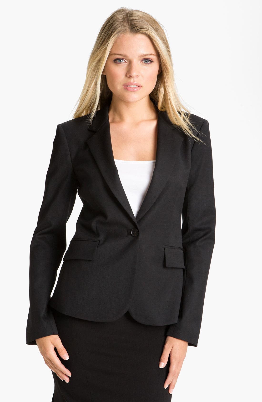 Alternate Image 1 Selected - Theory 'Gabrielle' Wool Blazer