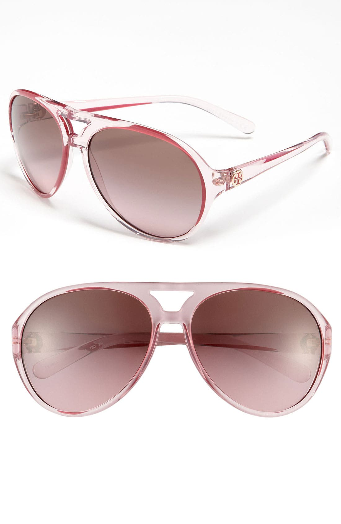 Alternate Image 1 Selected - Tory Burch Aviator Sunglasses