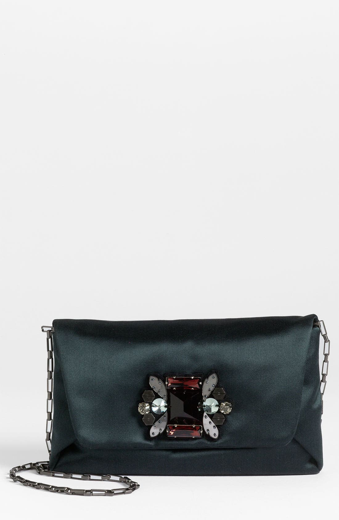 Main Image - Lanvin Satin Evening Pouch