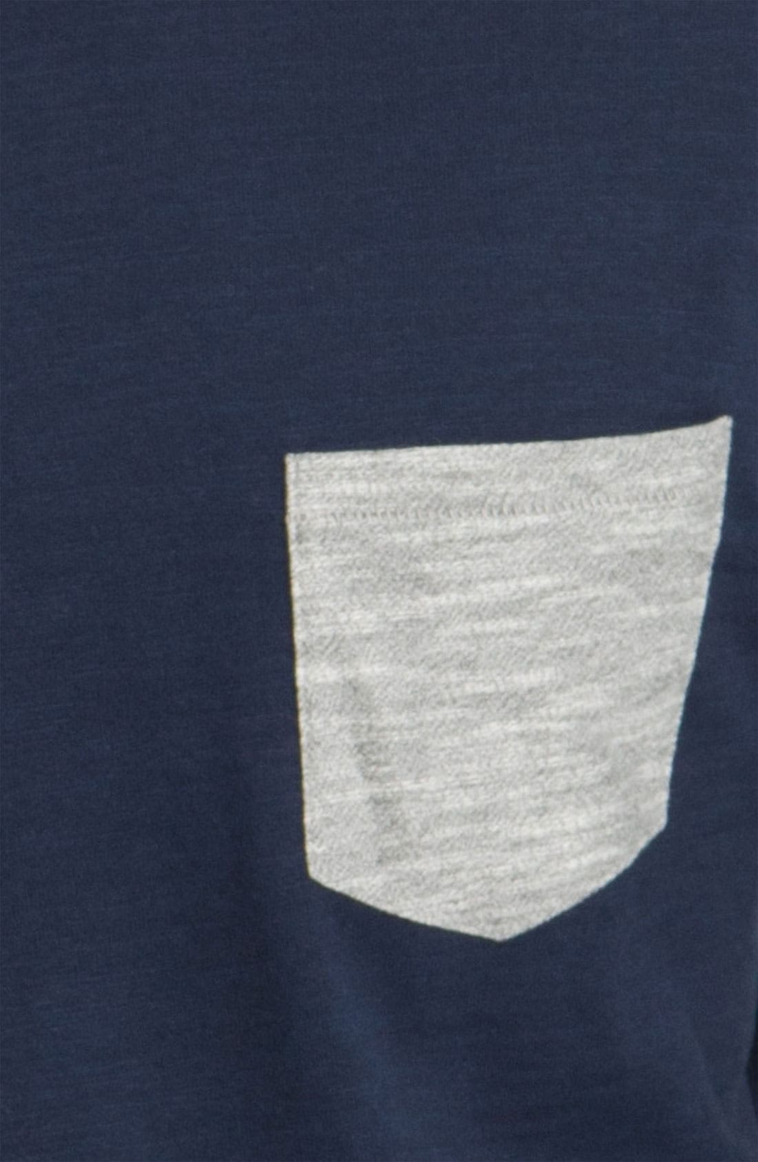 Alternate Image 3  - rag & bone Long Sleeve Crewneck T-Shirt