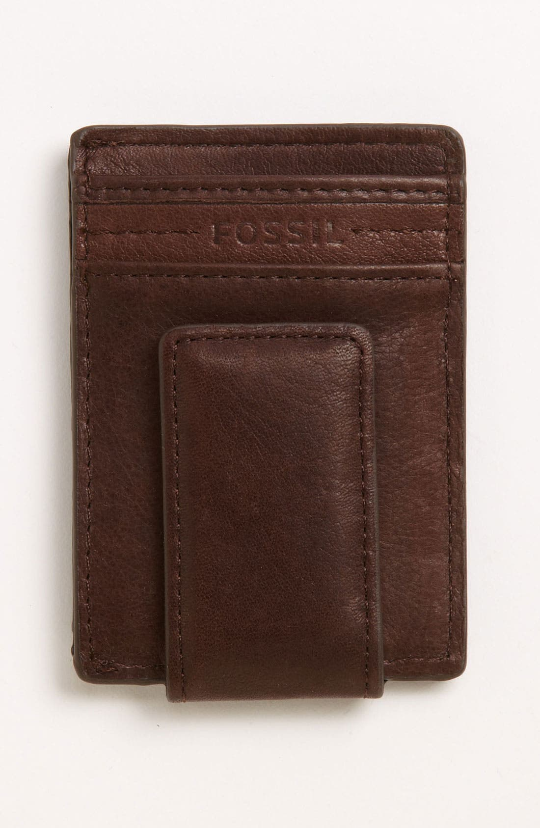 Alternate Image 1 Selected - Fossil 'Mag' Card Holder