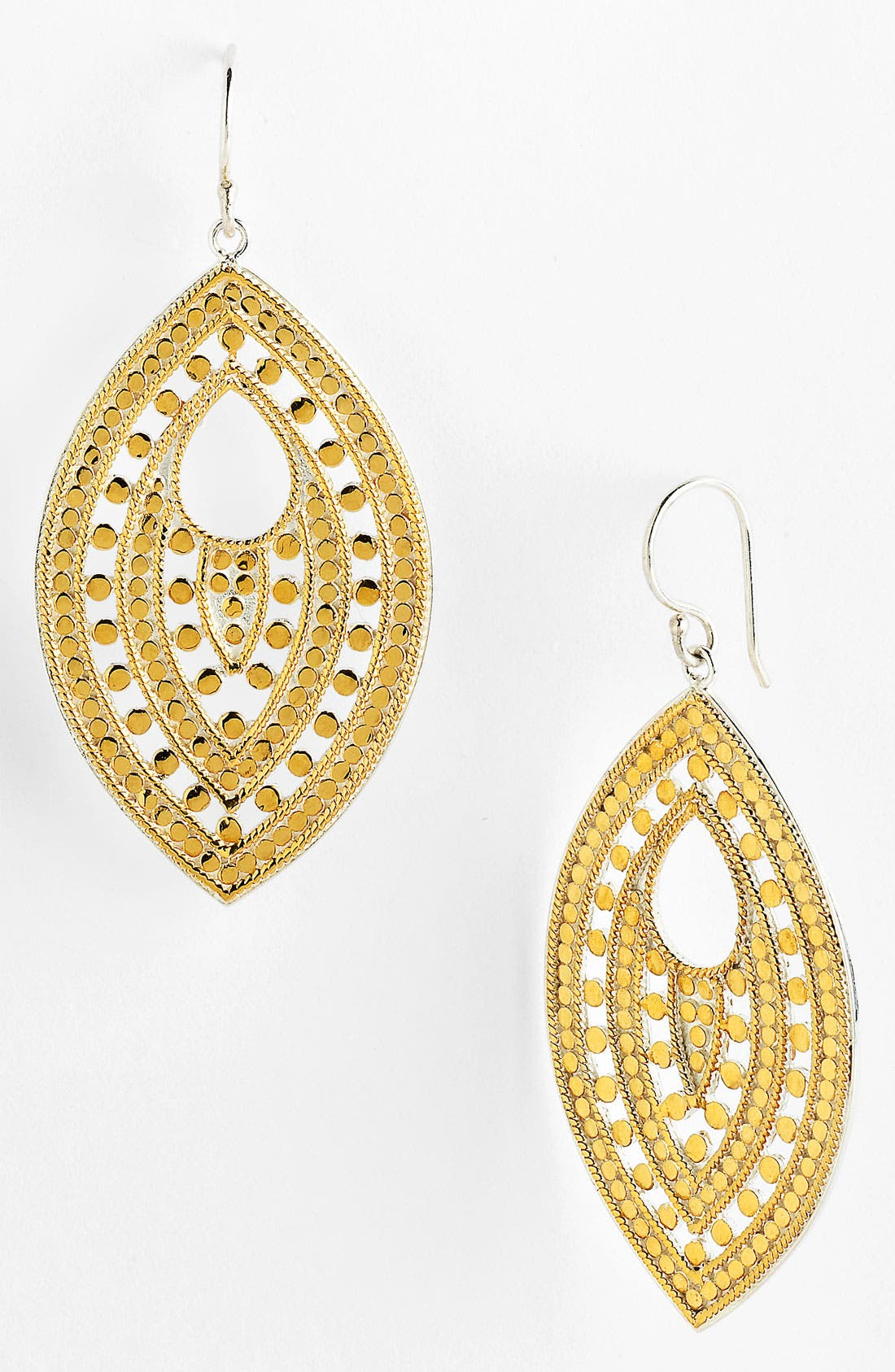 Alternate Image 1 Selected - Anna Beck 'Lombok' Keyhole Leaf Earrings