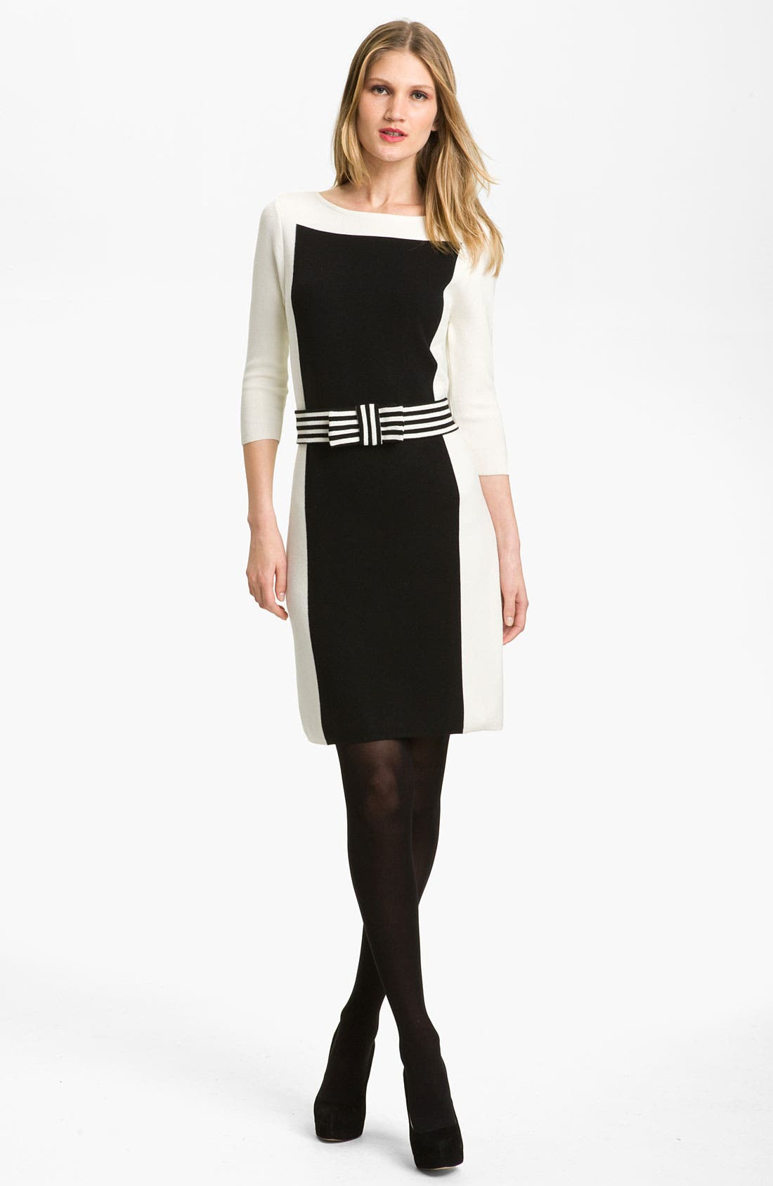 Alternate Image 4  - Milly Intarsia Sweater Dress