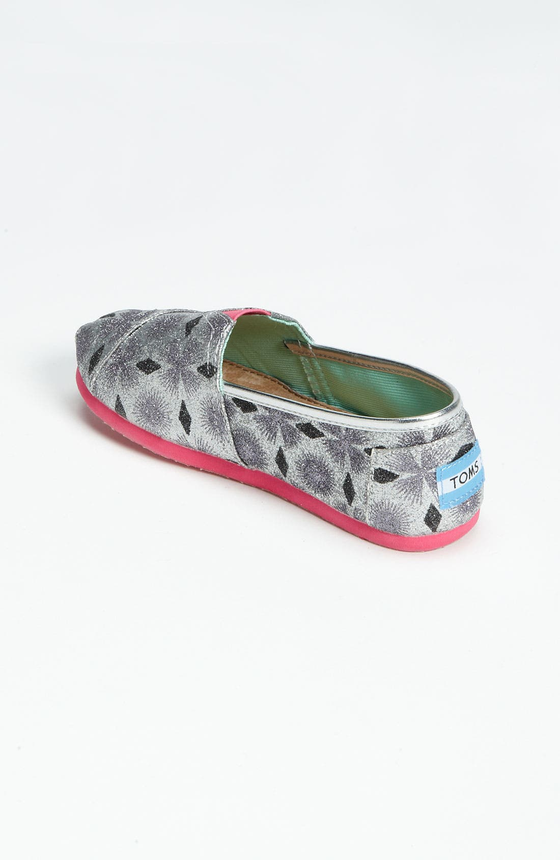 Alternate Image 2  - TOMS 'Classic Youth - Starburst' Slip-On (Little Kid & Big Kid) (Nordstrom Exclusive)