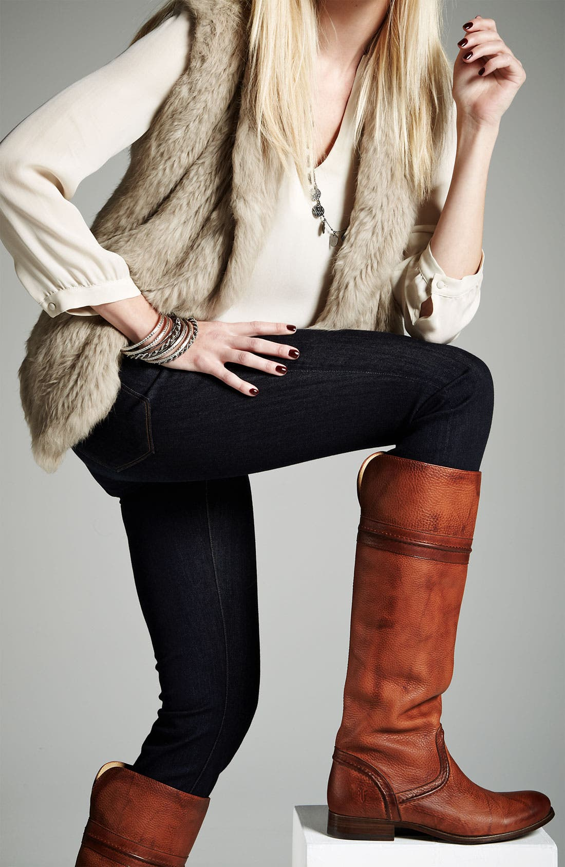Alternate Image 4  - Frye 'Melissa Trapunto' Boot