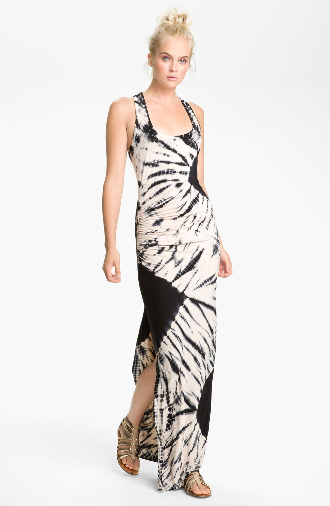 Main Image - Young, Fabulous & Broke 'Maelle' Tie Dye Maxi Dress