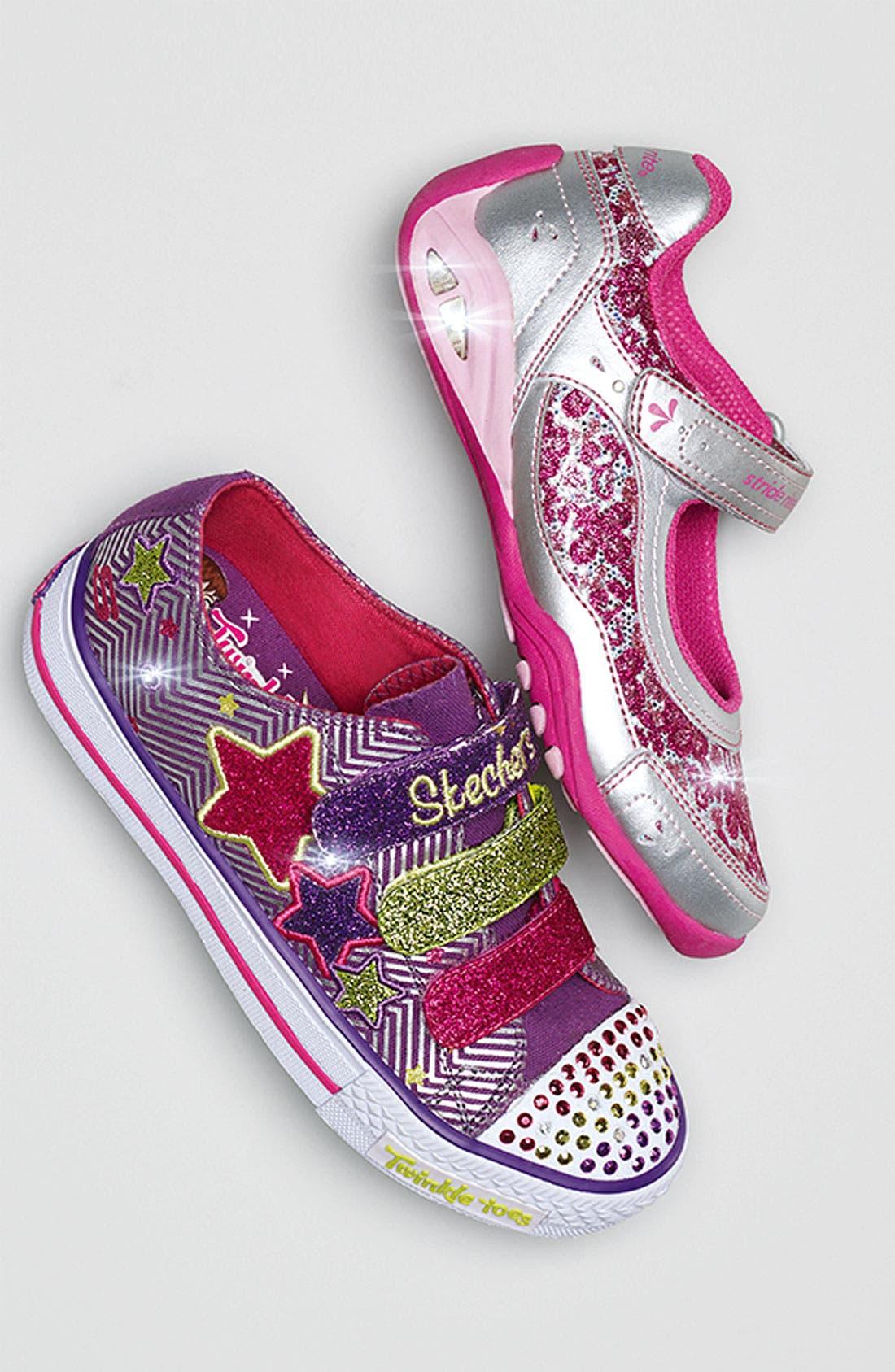 Alternate Image 6  - Stride Rite 'Sapphire' Light-Up Sneaker (Walker, Toddler & Little Kid)