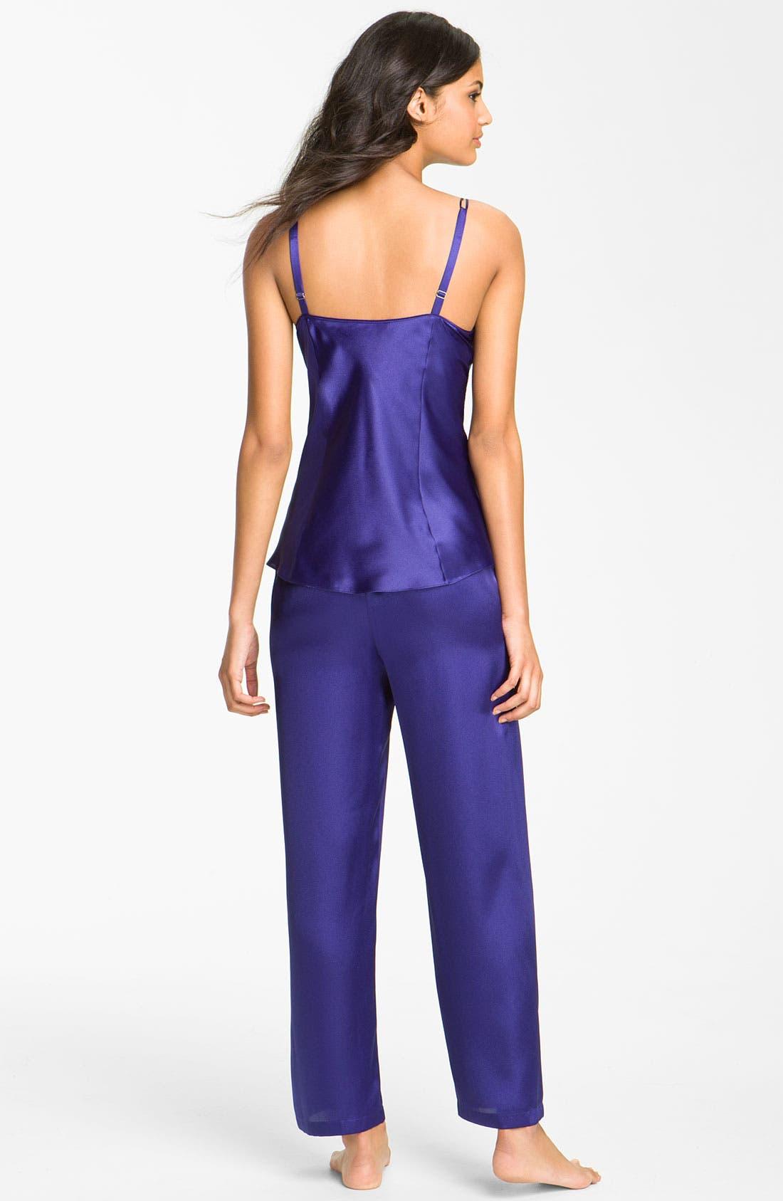 Alternate Image 2  - Oscar de la Renta Sleepwear 'Twilight Lace' Pajamas
