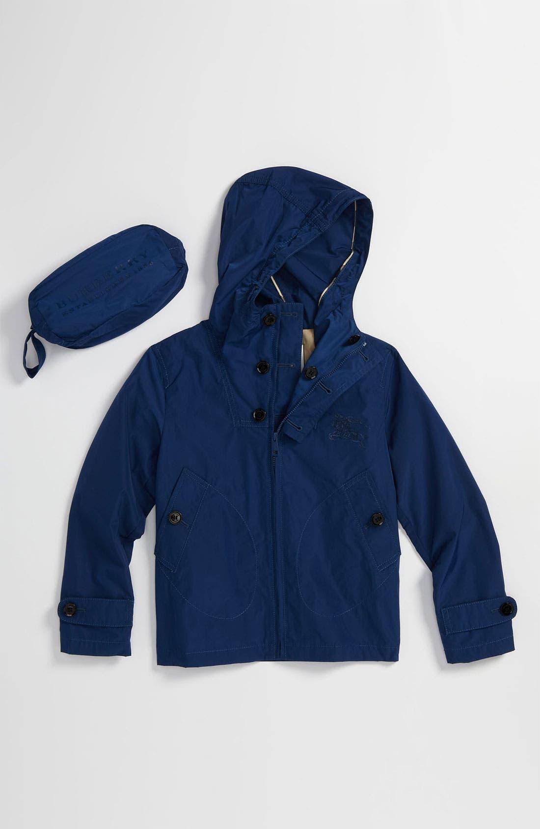 Alternate Image 1 Selected - Burberry Packable Jacket (Little Boys & Big Boys)