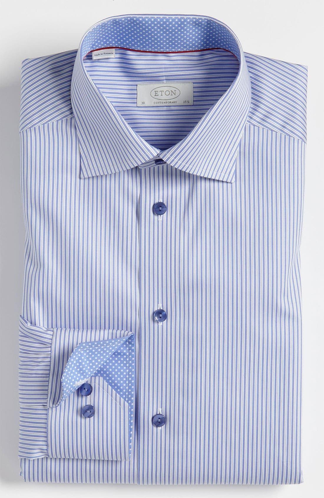 Alternate Image 1 Selected - Eton Contemporary Fit Dress Shirt