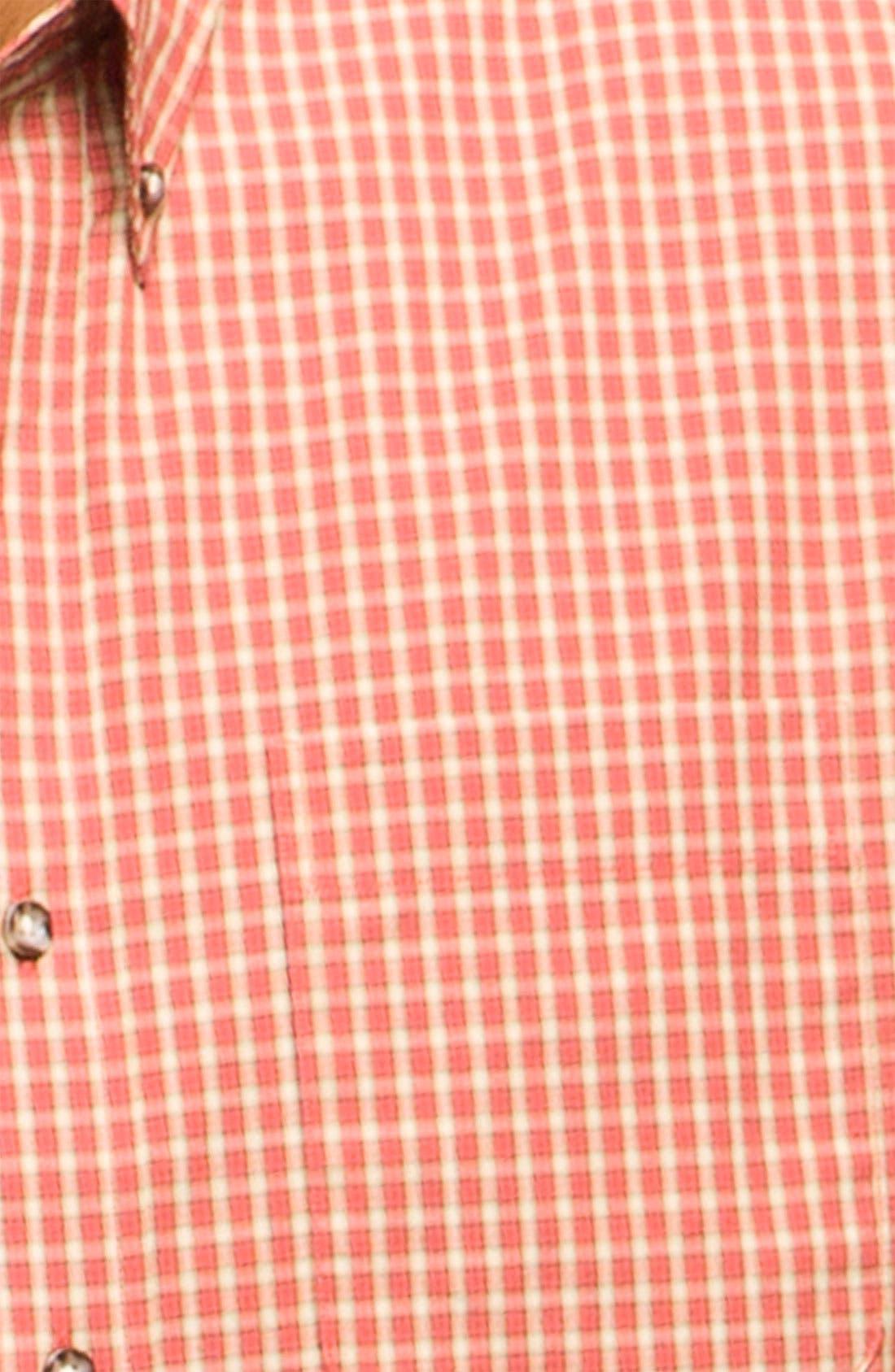 Alternate Image 3  - Cutter & Buck 'Spruce' Check Sport Shirt (Big & Tall)
