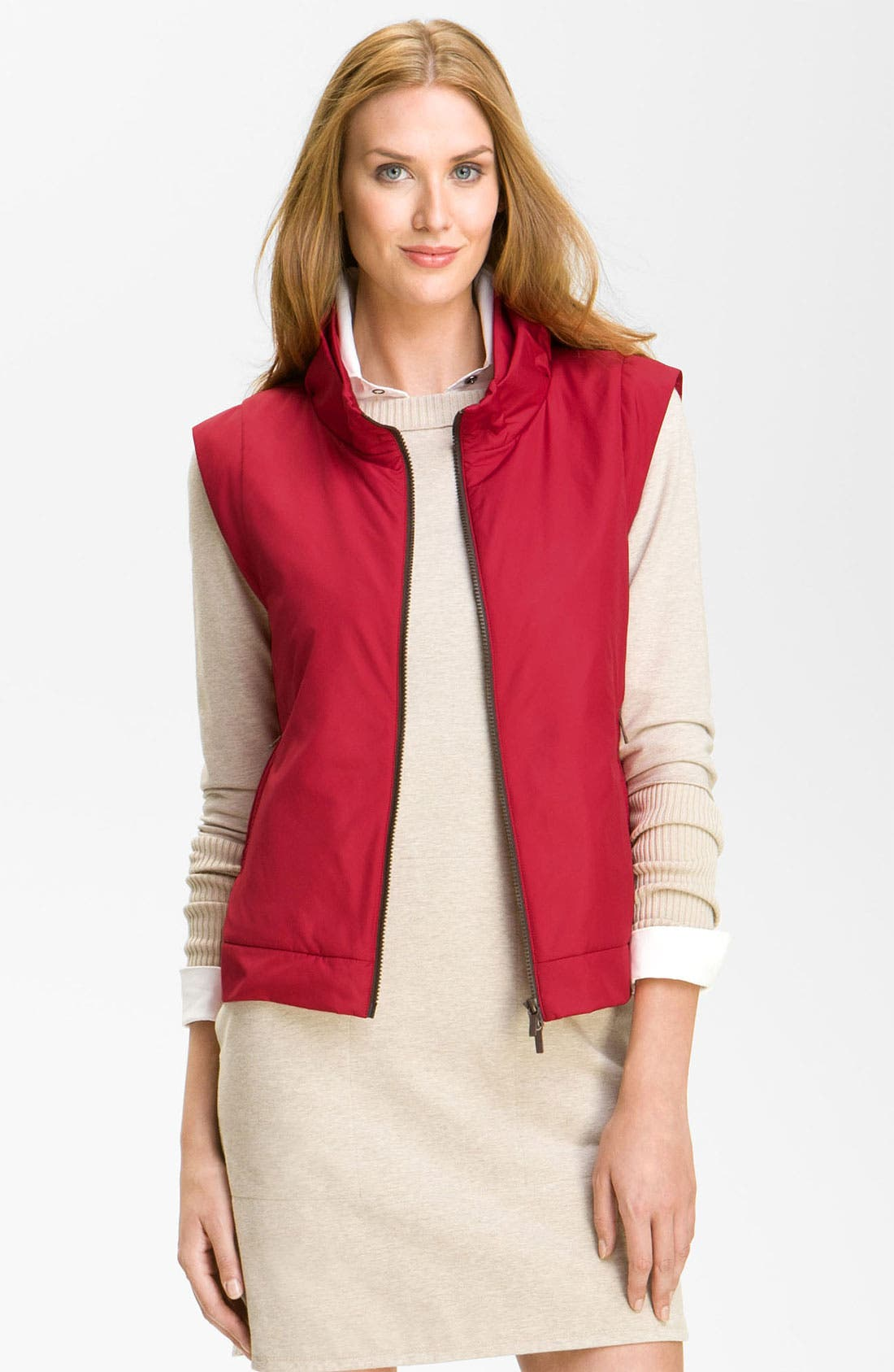 Alternate Image 1 Selected - Lafayette 148 New York 'Sport Cloth' Vest