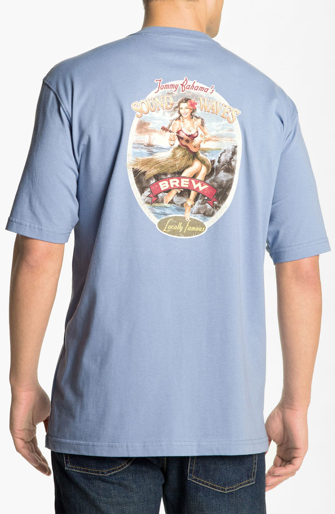 Alternate Image 1 Selected - Tommy Bahama 'Sound Waves Brew' T-Shirt
