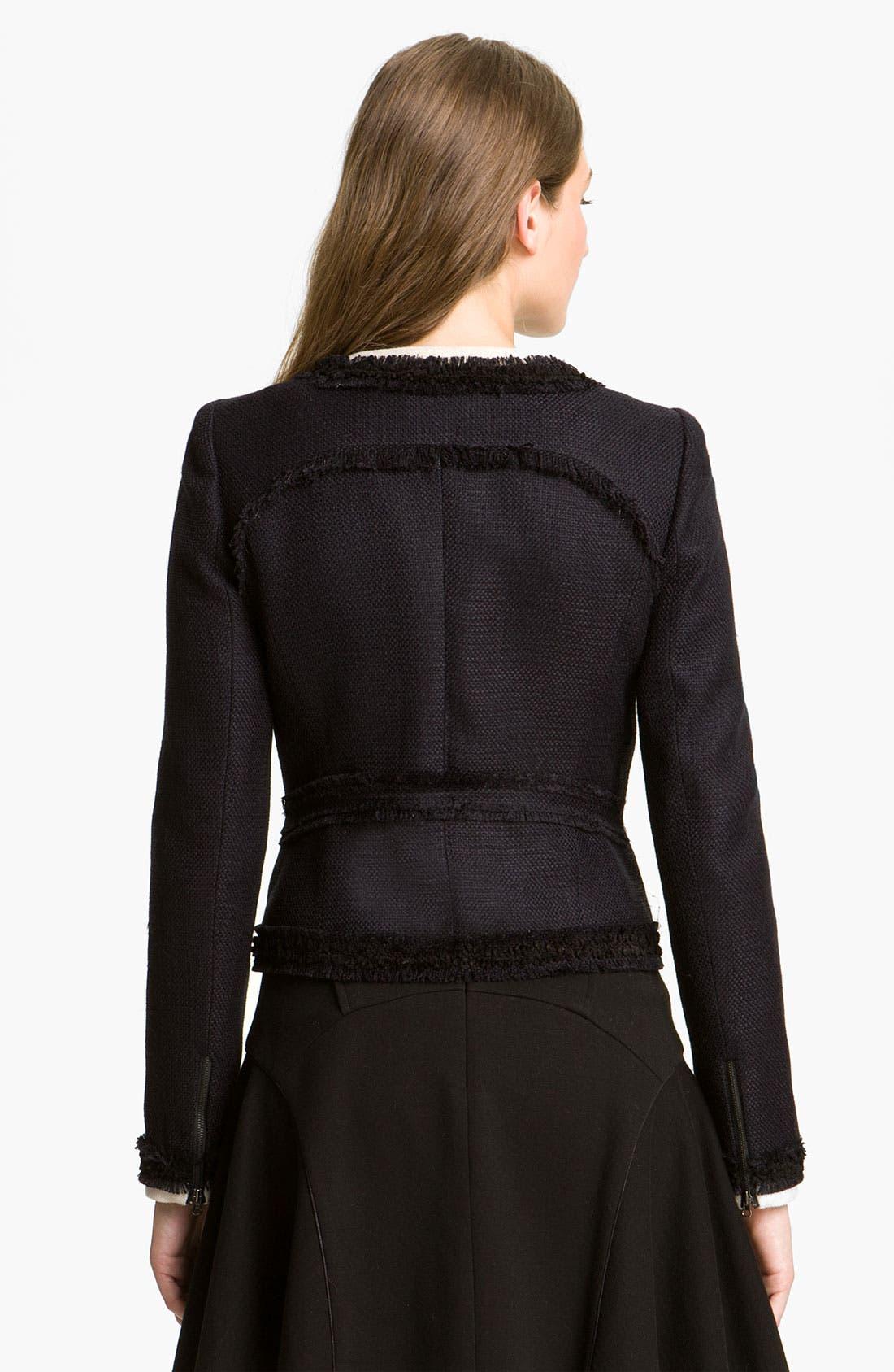 Alternate Image 2  - Mcginn 'Sasha' Contrast Trim Tweed Jacket