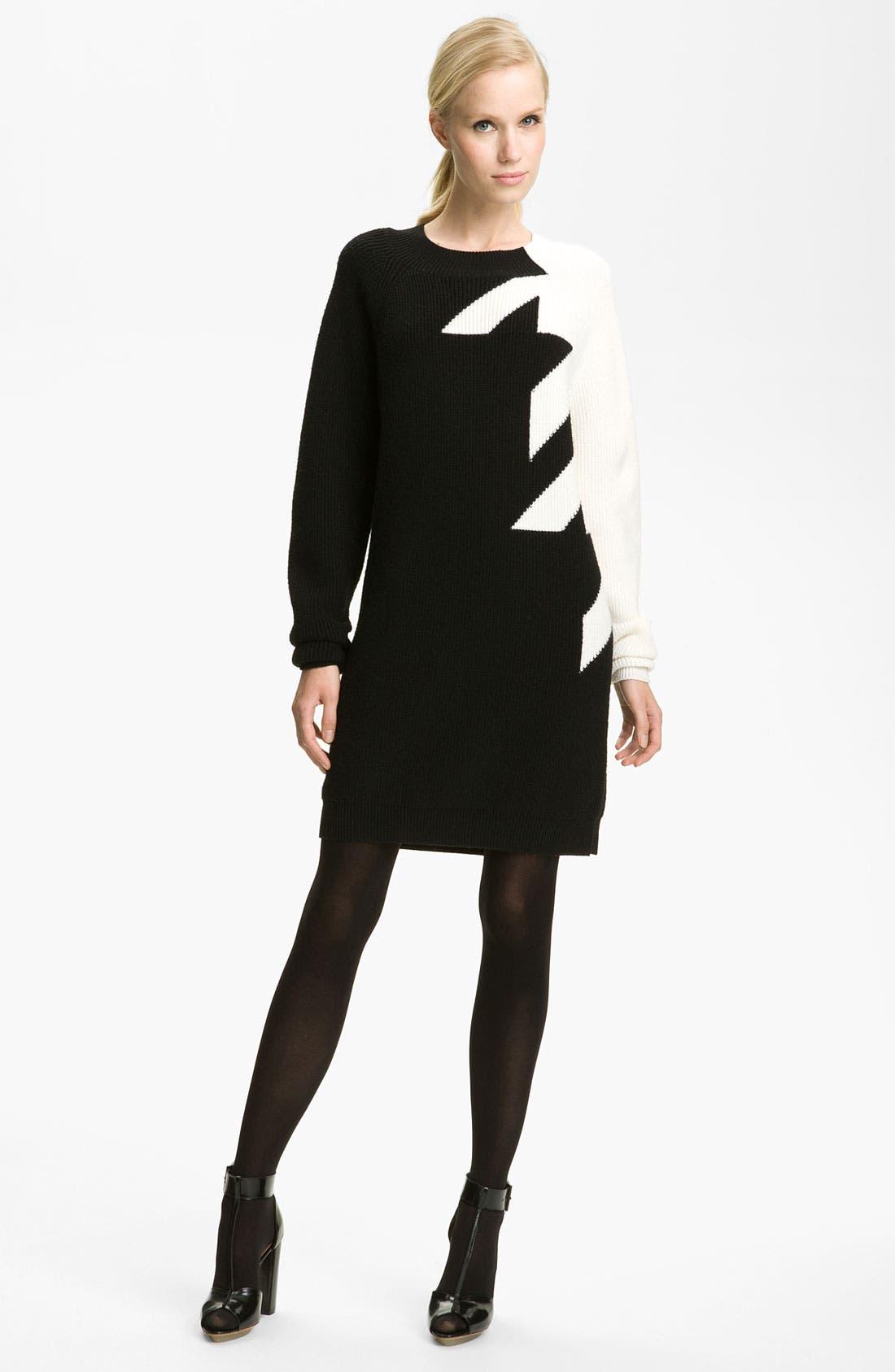 Alternate Image 1 Selected - 3.1 Phillip Lim Houndstooth Knit Dress