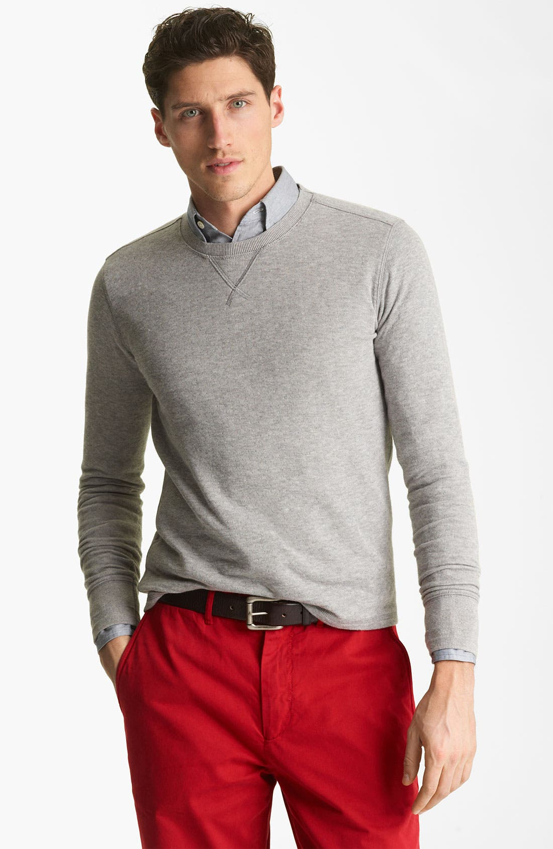 Alternate Image 1 Selected - Jack Spade Dual Layer Sweatshirt