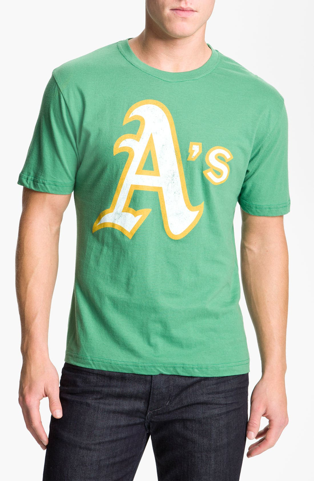 Alternate Image 1 Selected - Wright & Ditson 'Oakland Athletics' Graphic T-Shirt