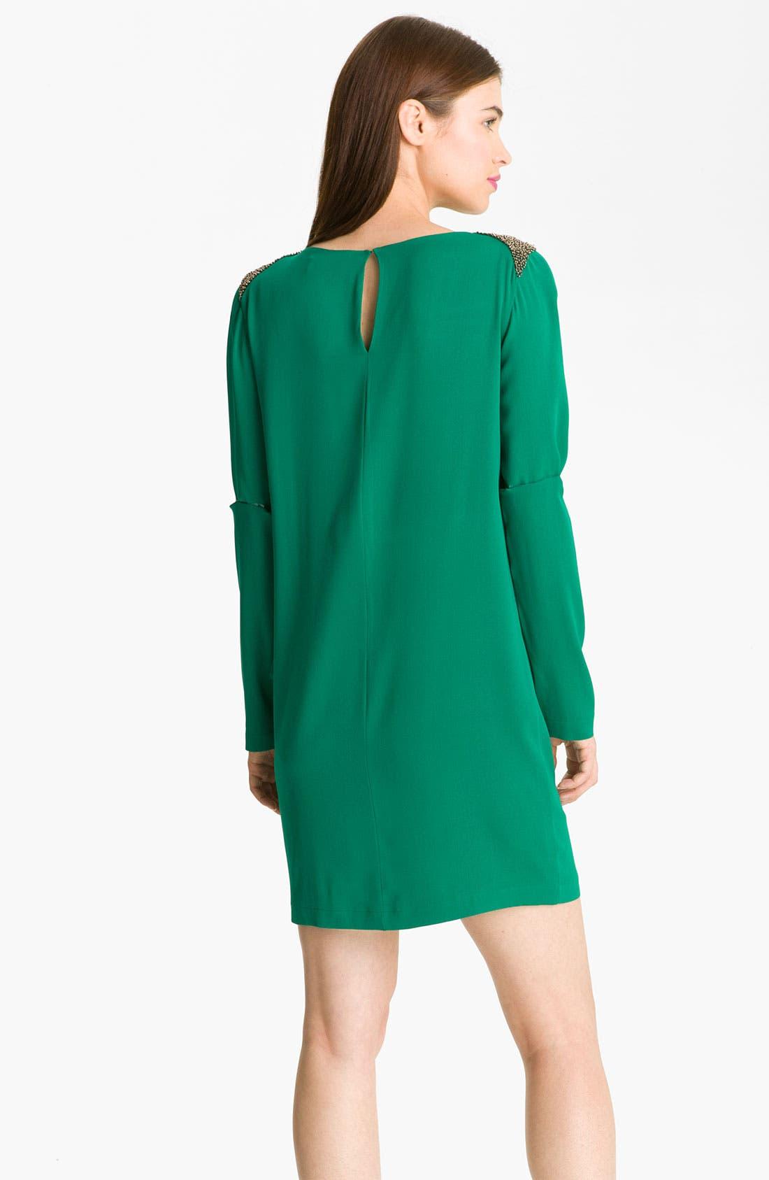 Alternate Image 2  - Robert Rodriguez Embellished Cascade Ruffle Dress