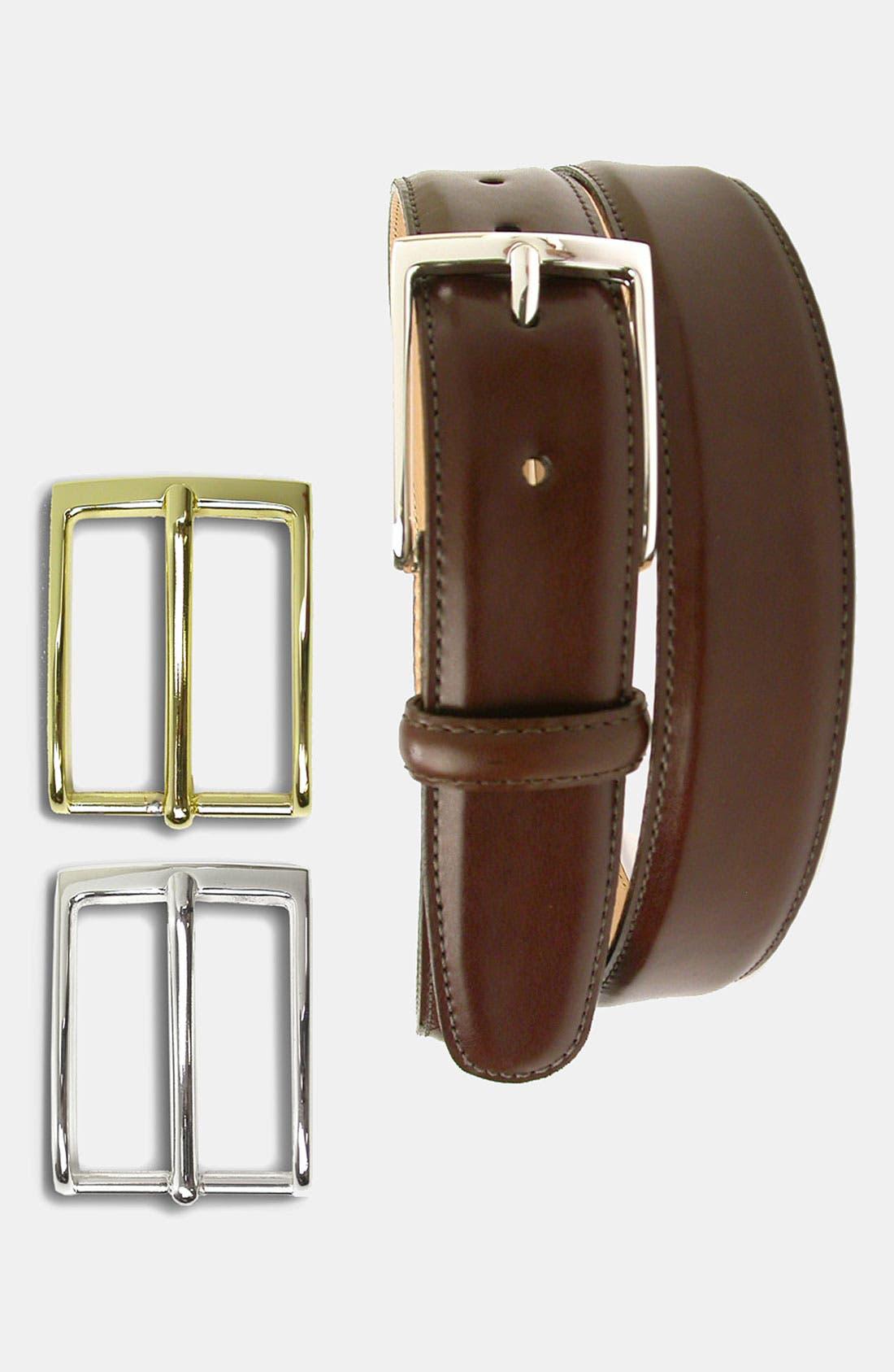 Alternate Image 2  - Martin Dingman 'Smith' Leather Belt