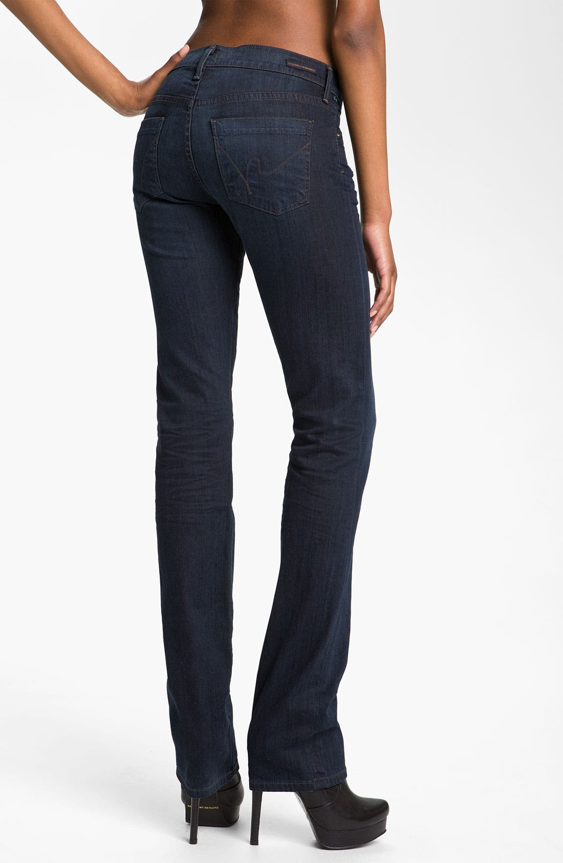 Alternate Image 2  - Citizens of Humanity 'Ava' Straight Leg Stretch Jeans (Honor)