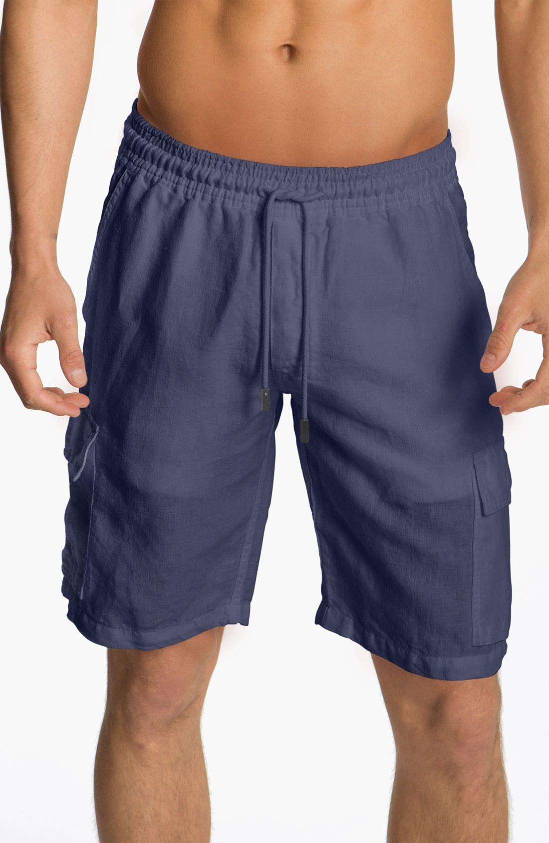 Main Image - Vilebrequin 'Baie' Linen Shorts