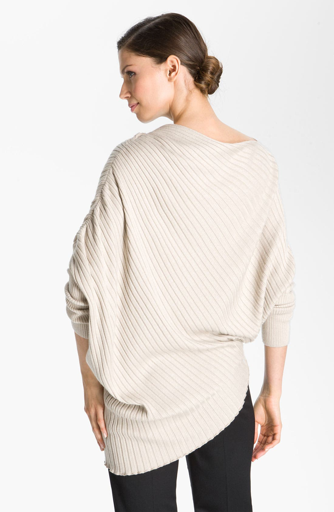 Alternate Image 2  - St. John Collection Bateau Neck Sweater