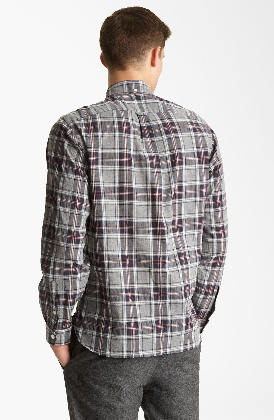 Alternate Image 2  - Todd Snyder Plaid Sport Shirt