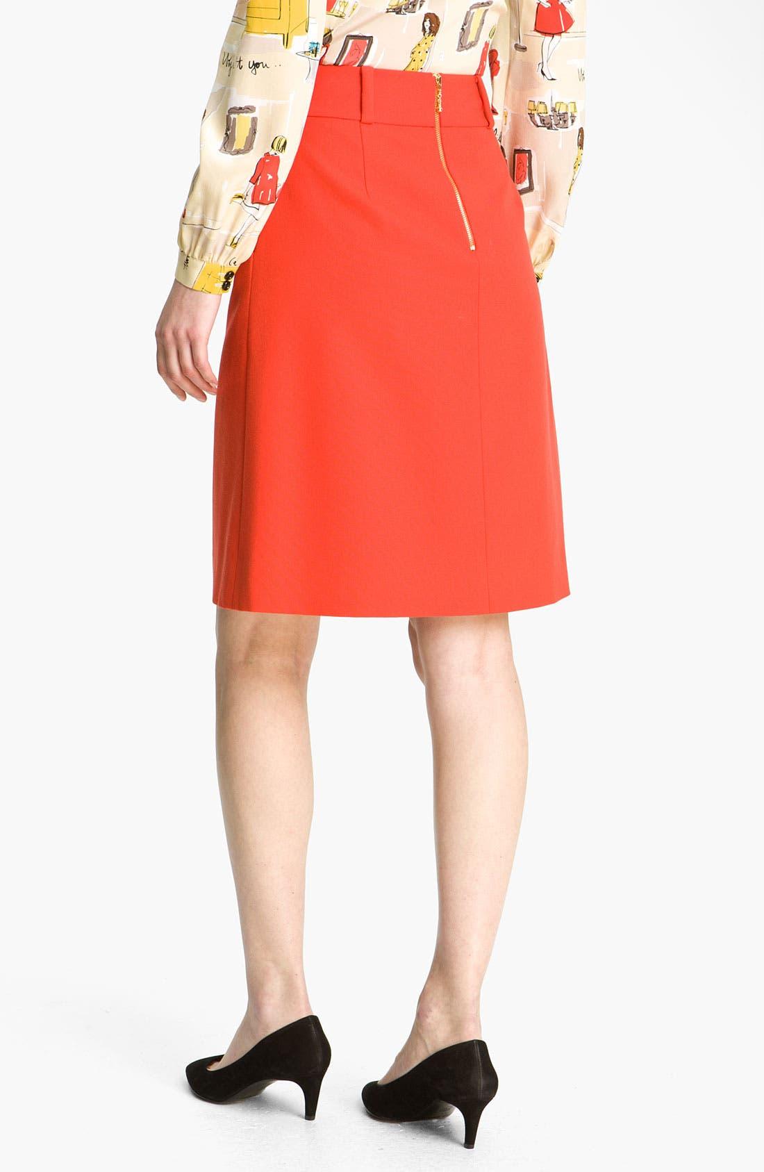 Alternate Image 2  - kate spade new york 'mollie' skirt