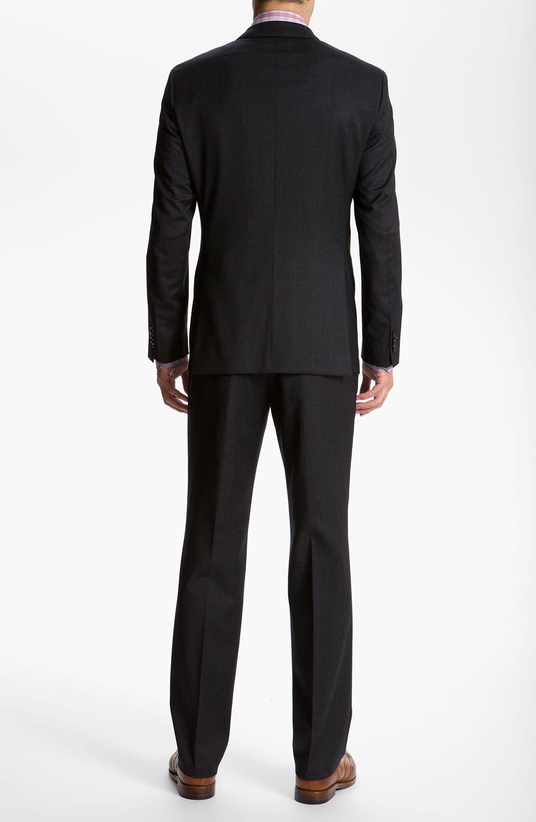 Alternate Image 3  - BOSS Black 'James/Sharp' Trim Fit Plaid Suit