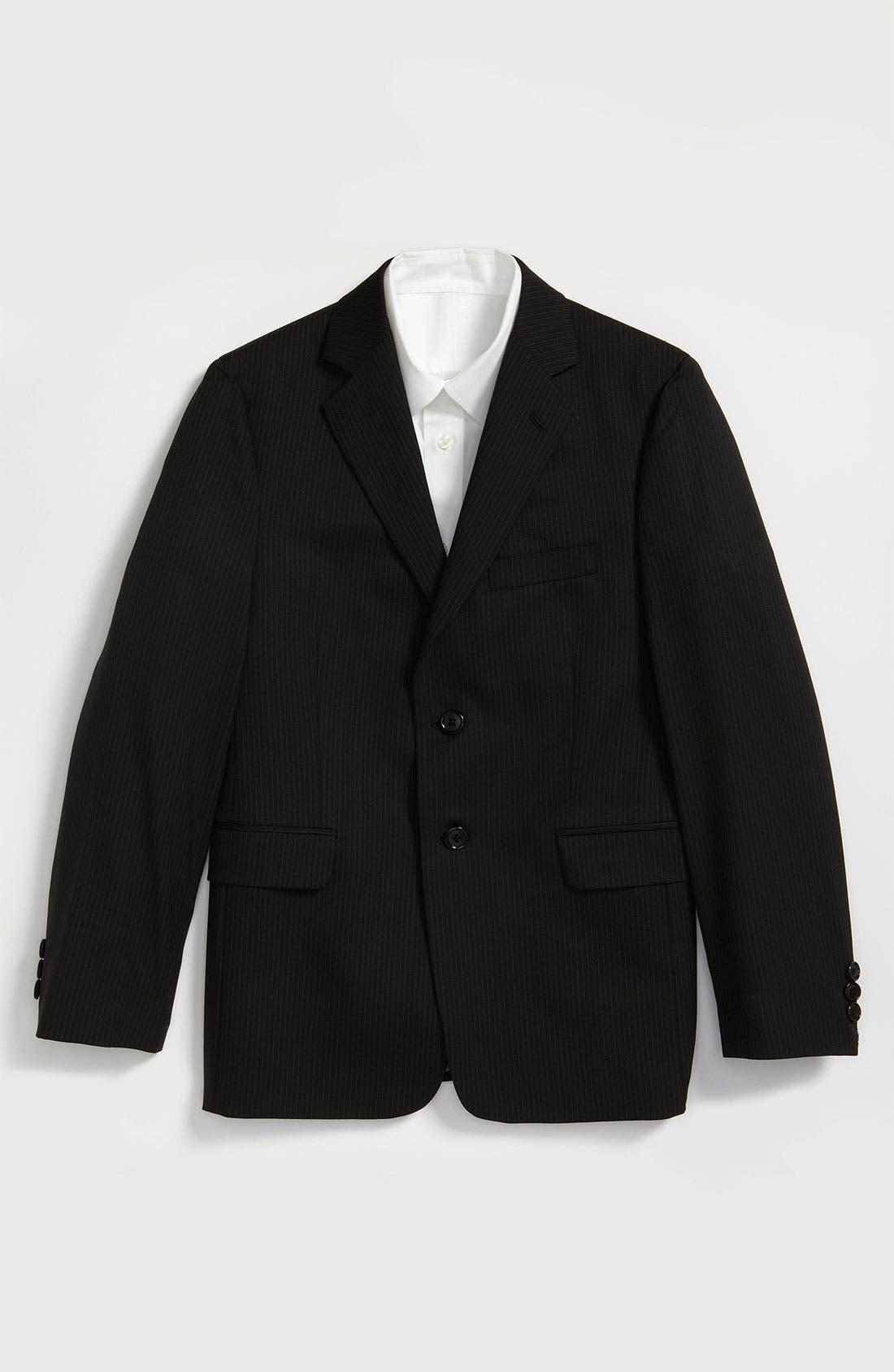 Main Image - Joseph Abboud Pinstripe Suit Jacket (Big Boys)