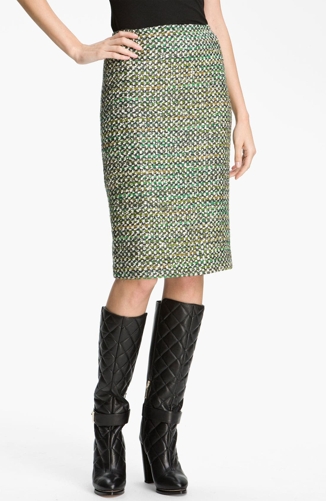 Alternate Image 1 Selected - Lafayette 148 New York 'Hierarchy' Tweed Skirt
