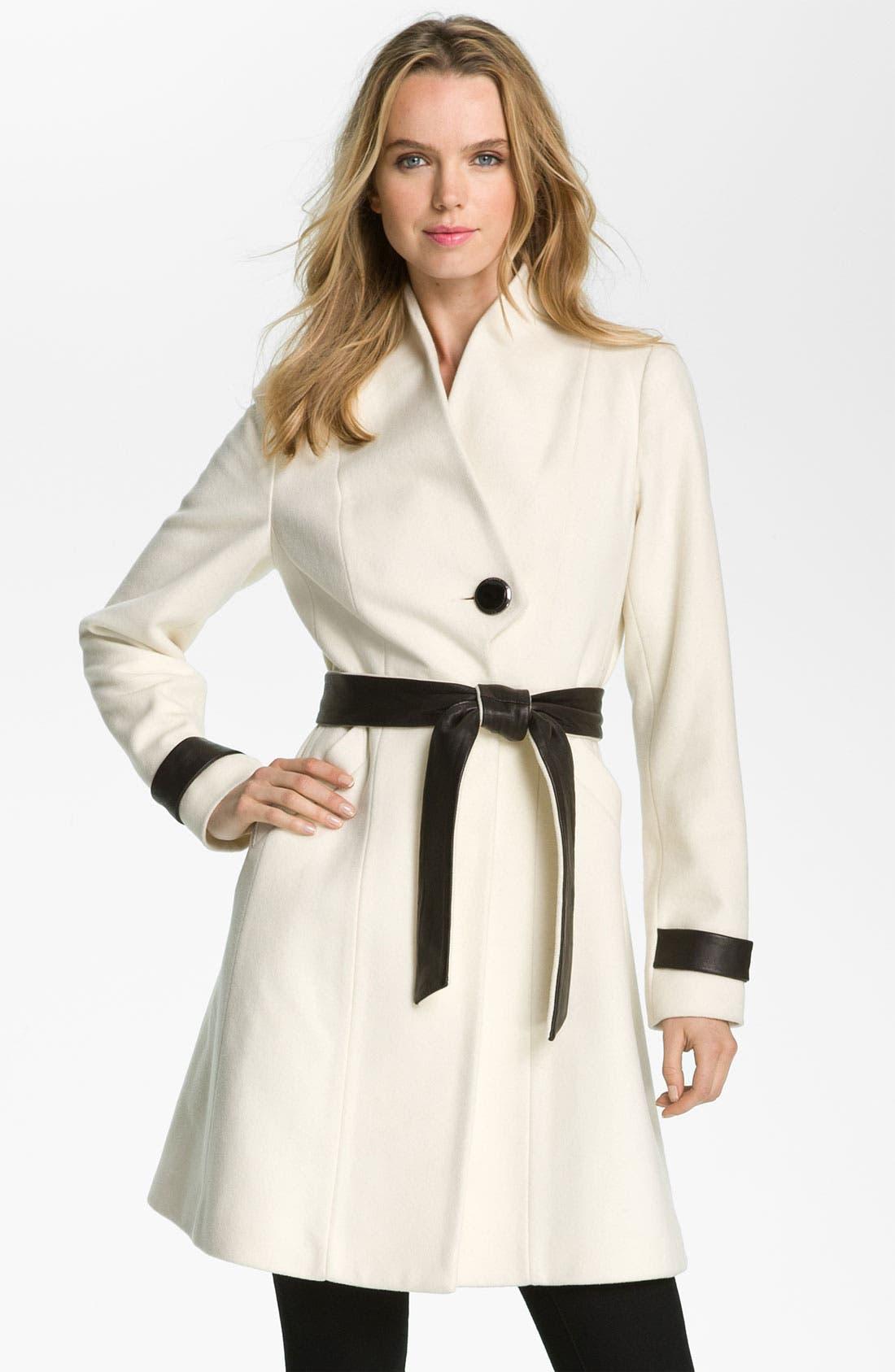 Alternate Image 1 Selected - Badgley Mischka 'Sasha' Coat