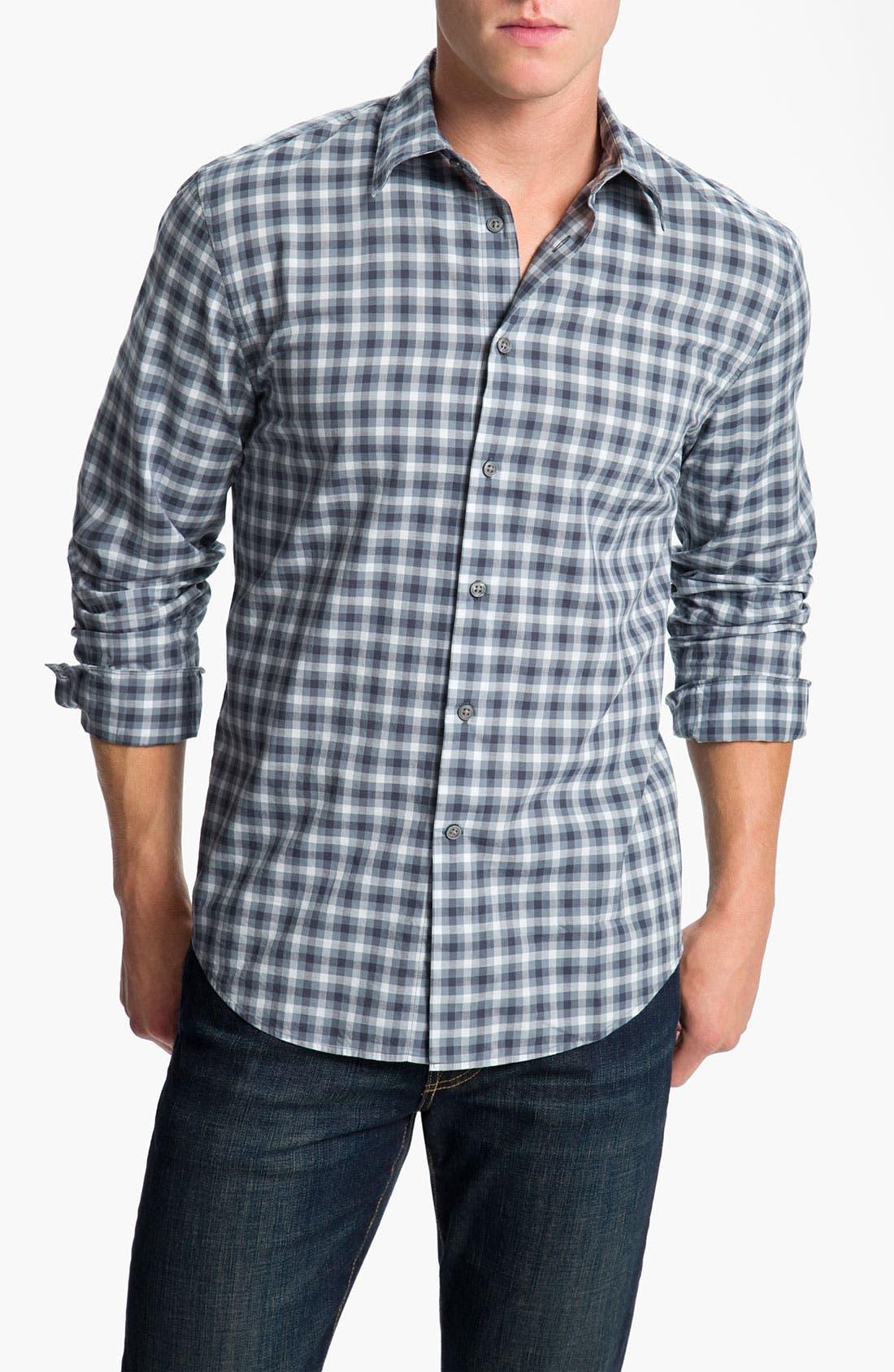 Main Image - John Varvatos Star USA Wire Collar Sport Shirt