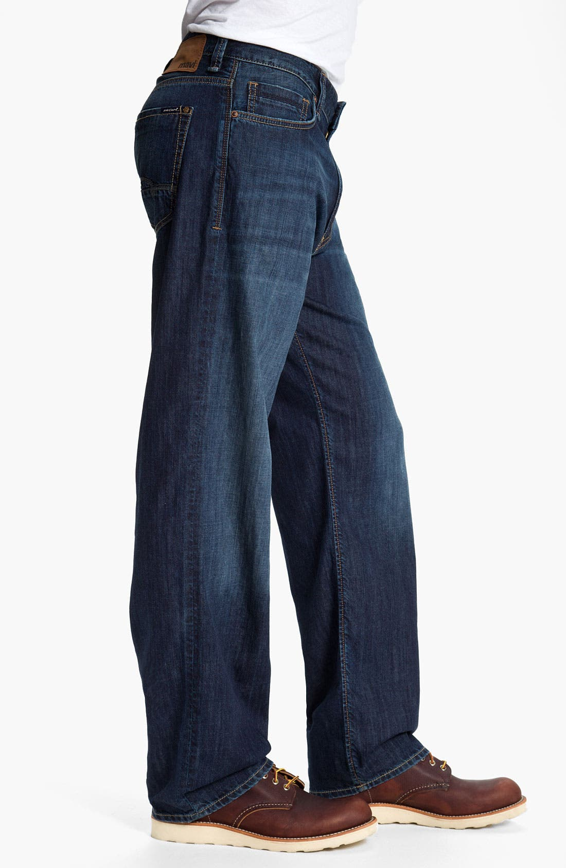 Alternate Image 3  - Mavi Jeans 'Max' Relaxed Fit Jeans (Dark Spring)