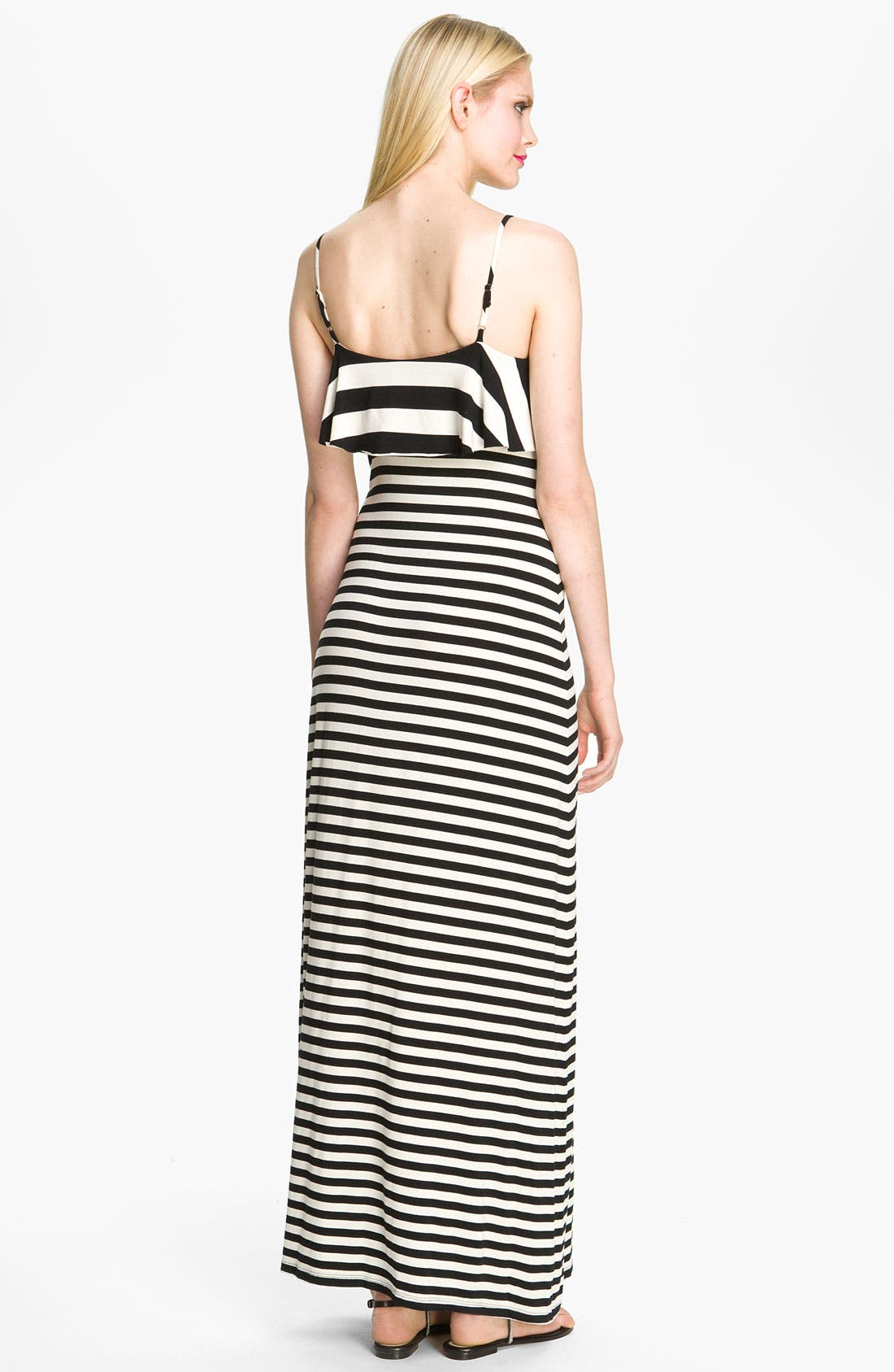 Alternate Image 2  - Seamline Cynthia Steffe 'Leslie' Print Ruffle Front Maxi Dress