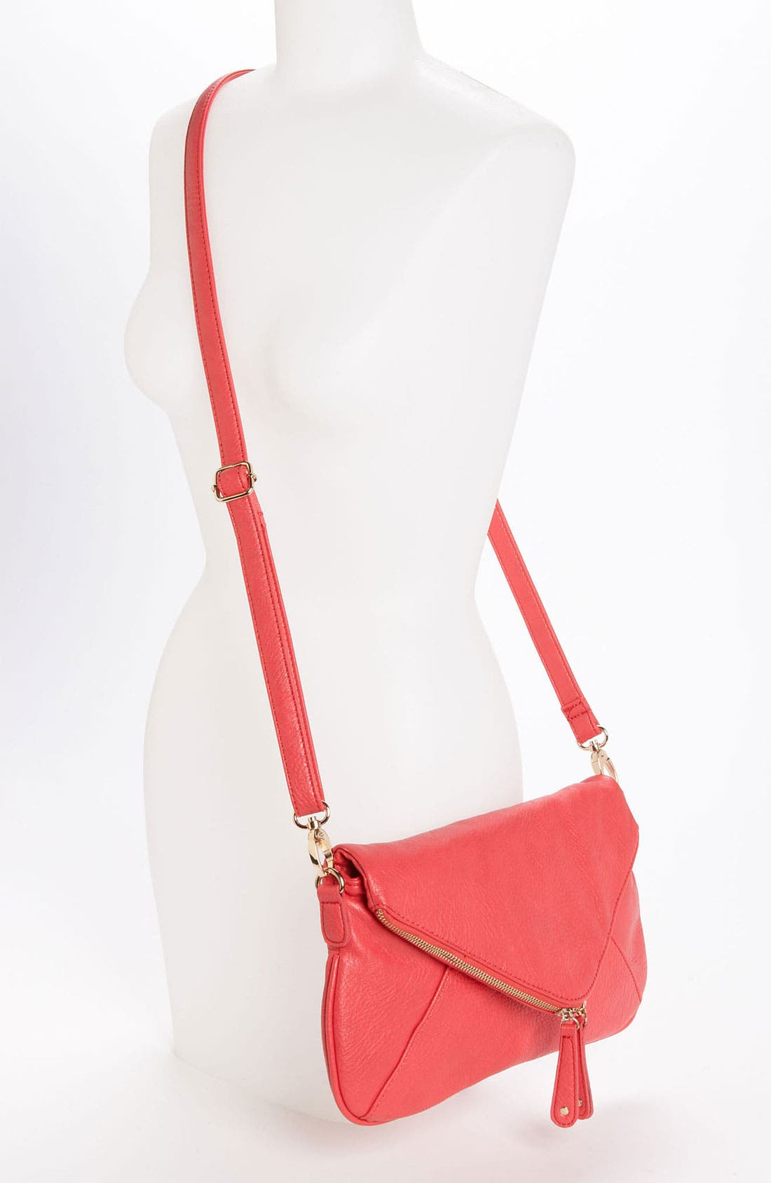 Alternate Image 2  - Street Level Convertible Crossbody Envelope Bag