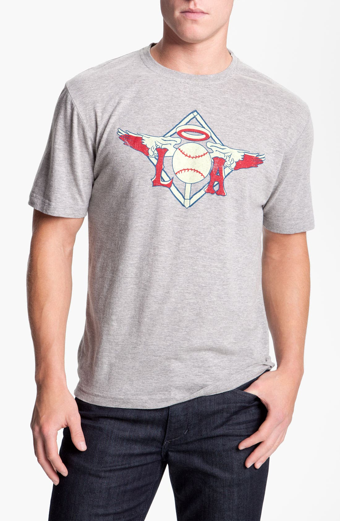 Alternate Image 1 Selected - Wright & Ditson 'California Angels of Los Angeles' Graphic T-Shirt