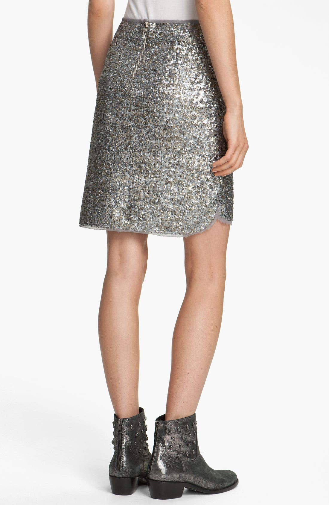 Alternate Image 2  - Zadig & Voltaire 'Jasmina' Sequin Skirt