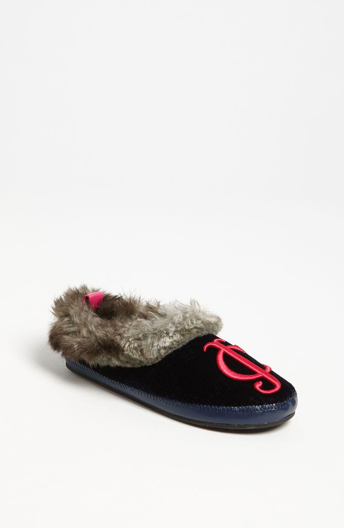 Alternate Image 1 Selected - Juicy Couture 'Kelly' Slipper (Toddler, Little Kid & Big Kid)