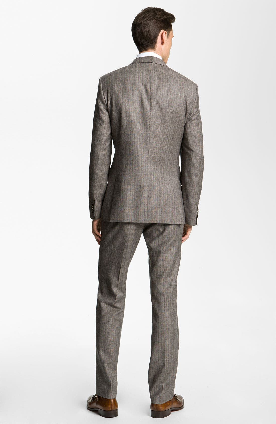 Alternate Image 3  - BOSS Black 'Hold Genius' Trim Fit Plaid Suit