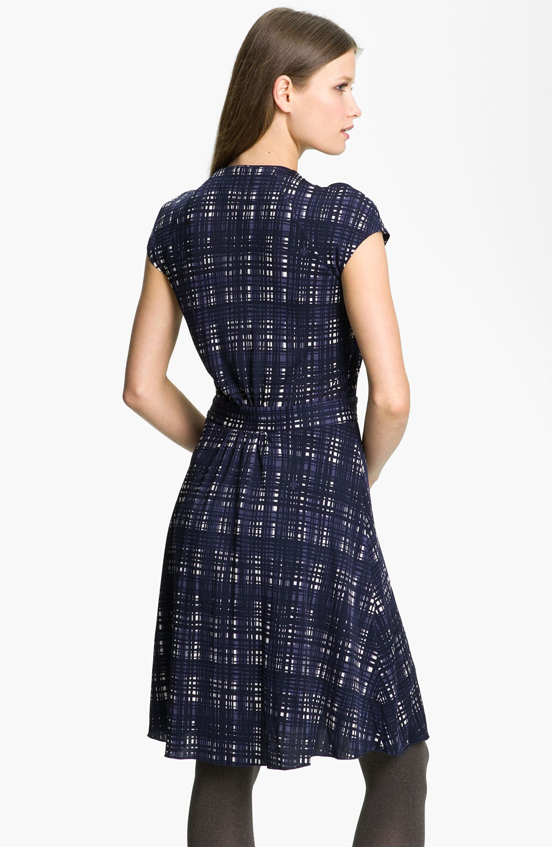 Alternate Image 2  - Tory Burch 'Clementine' Plaid A-Line Dress