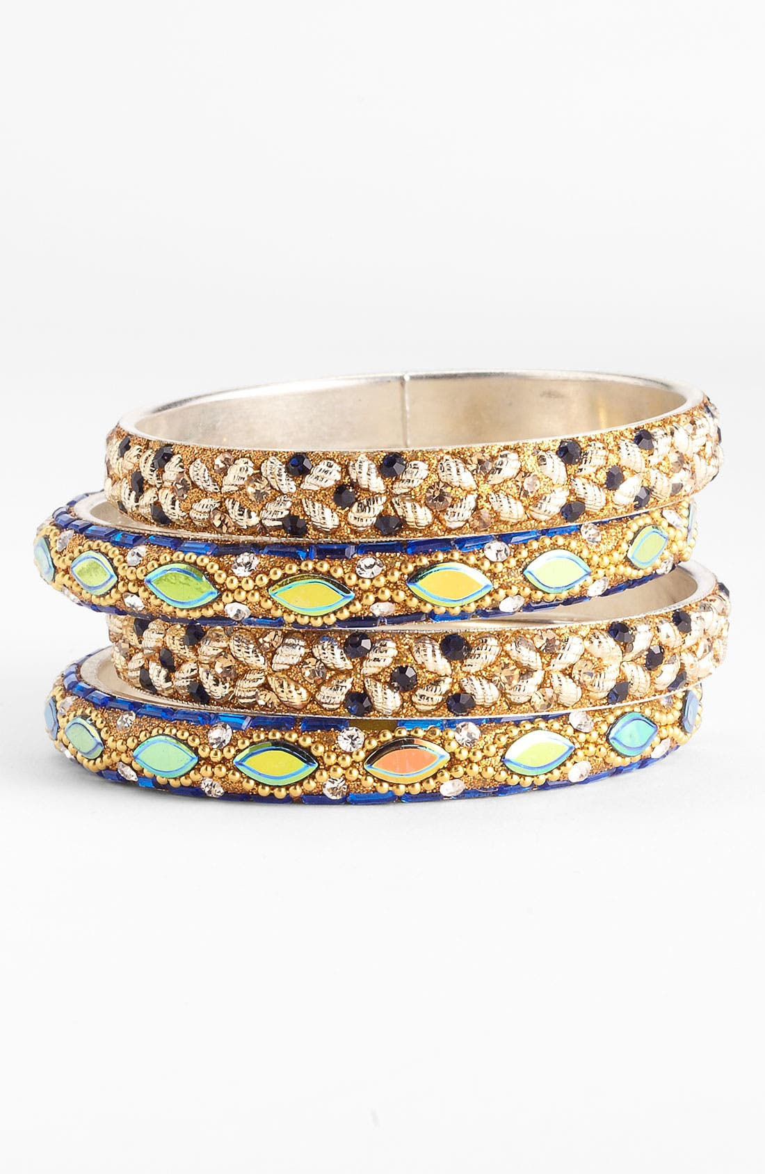 Alternate Image 1 Selected - Chamak by Priya Kakkar Bangles (Set of 4)