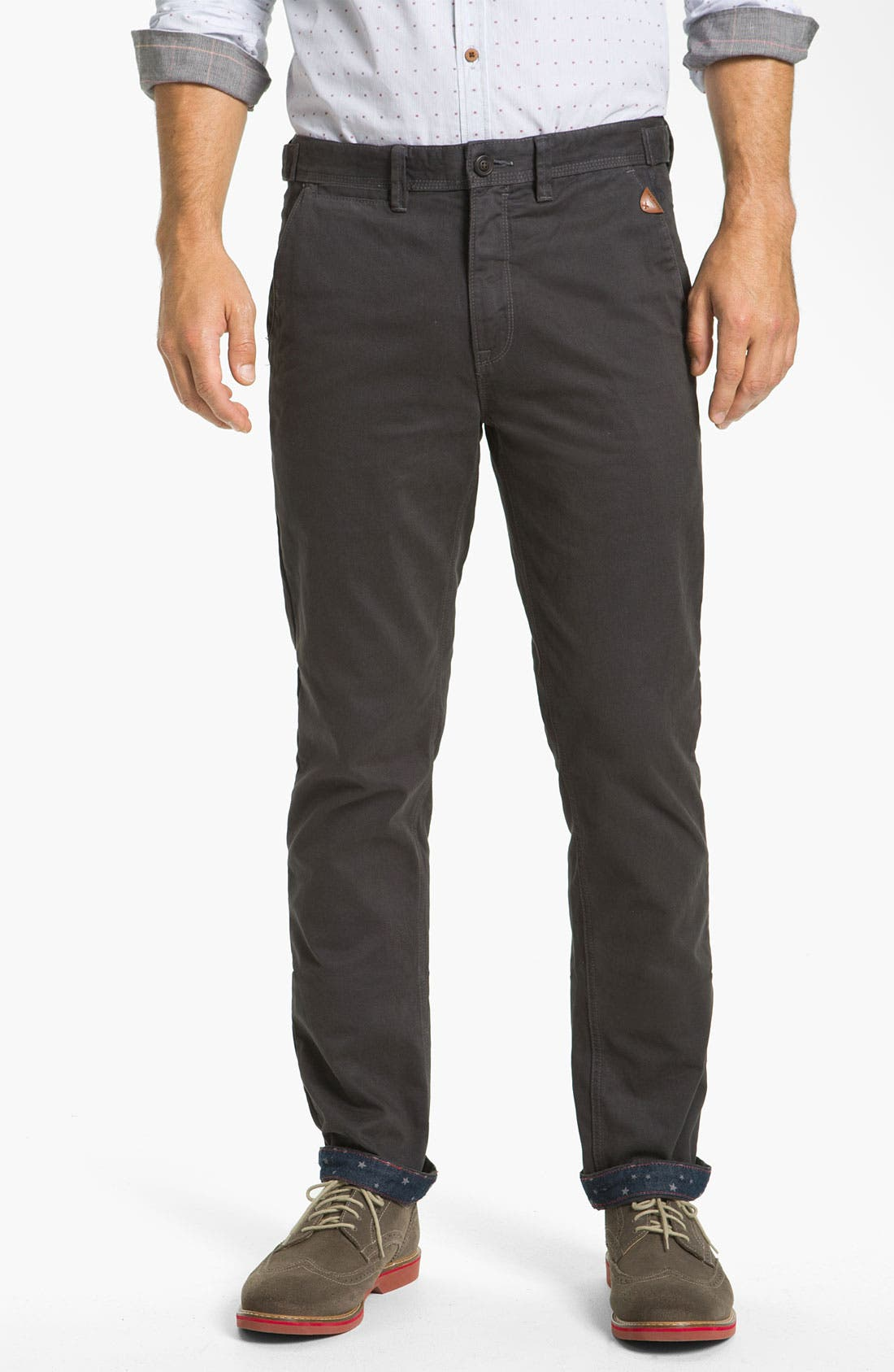 Alternate Image 1 Selected - Ted Baker London 'Lucchin' Slim Fit Chinos