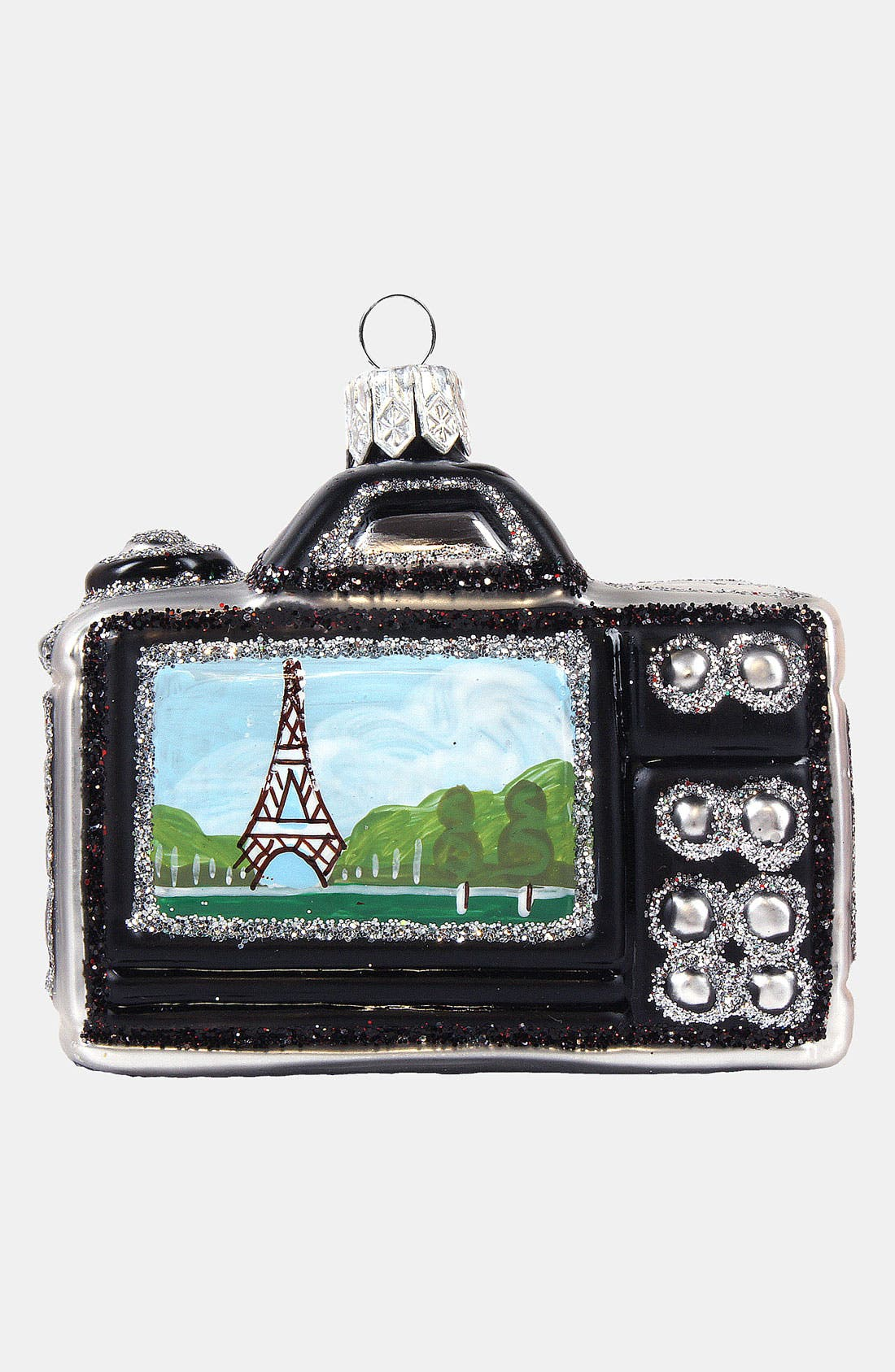 Alternate Image 2  - Nordstrom at Home 'Travel Camera' Glass Ornament