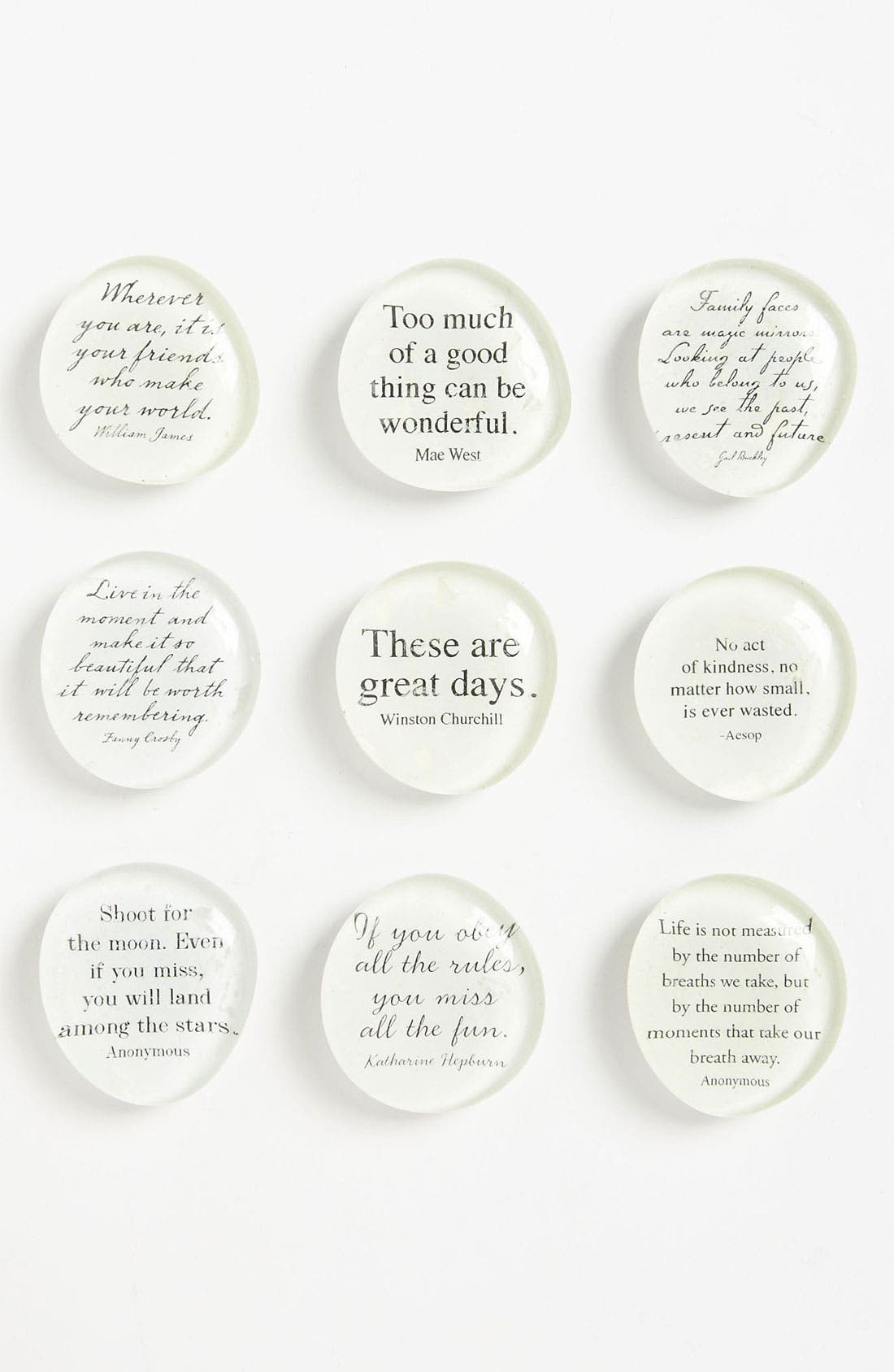 Main Image - Ben's Garden 'Script Quote' Superstrong™ Magnets