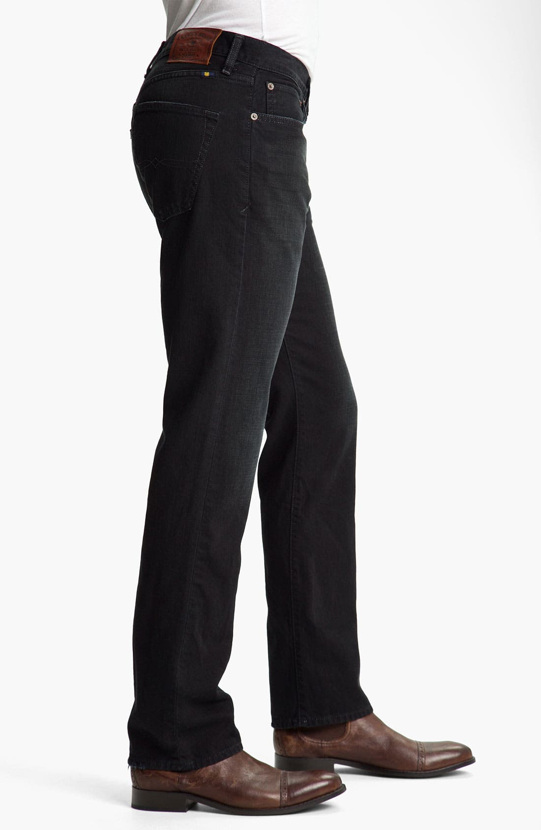 Alternate Image 3  - Lucky Brand '121 Heritage' Slim Straight Leg Jeans (Ol' Subway)
